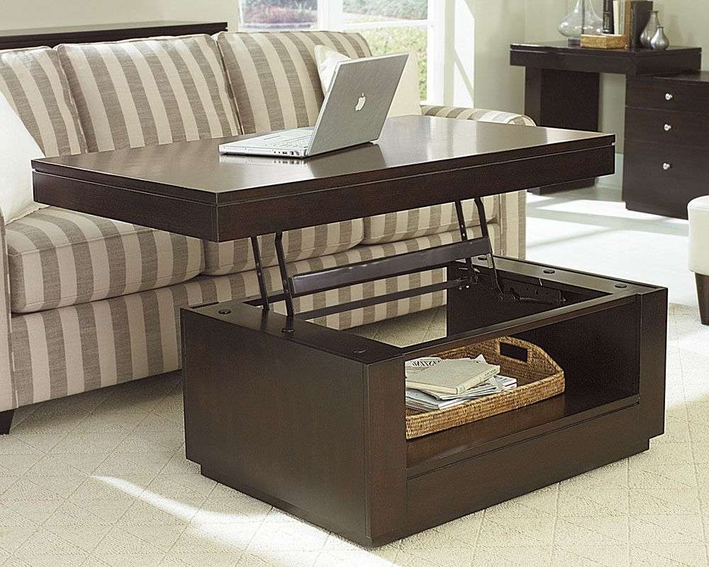 Recent Coffee Tables With Lift Top Storage Throughout Coffee Tables : Lift Top Coffee Table With Storage Best Of Living (View 17 of 20)
