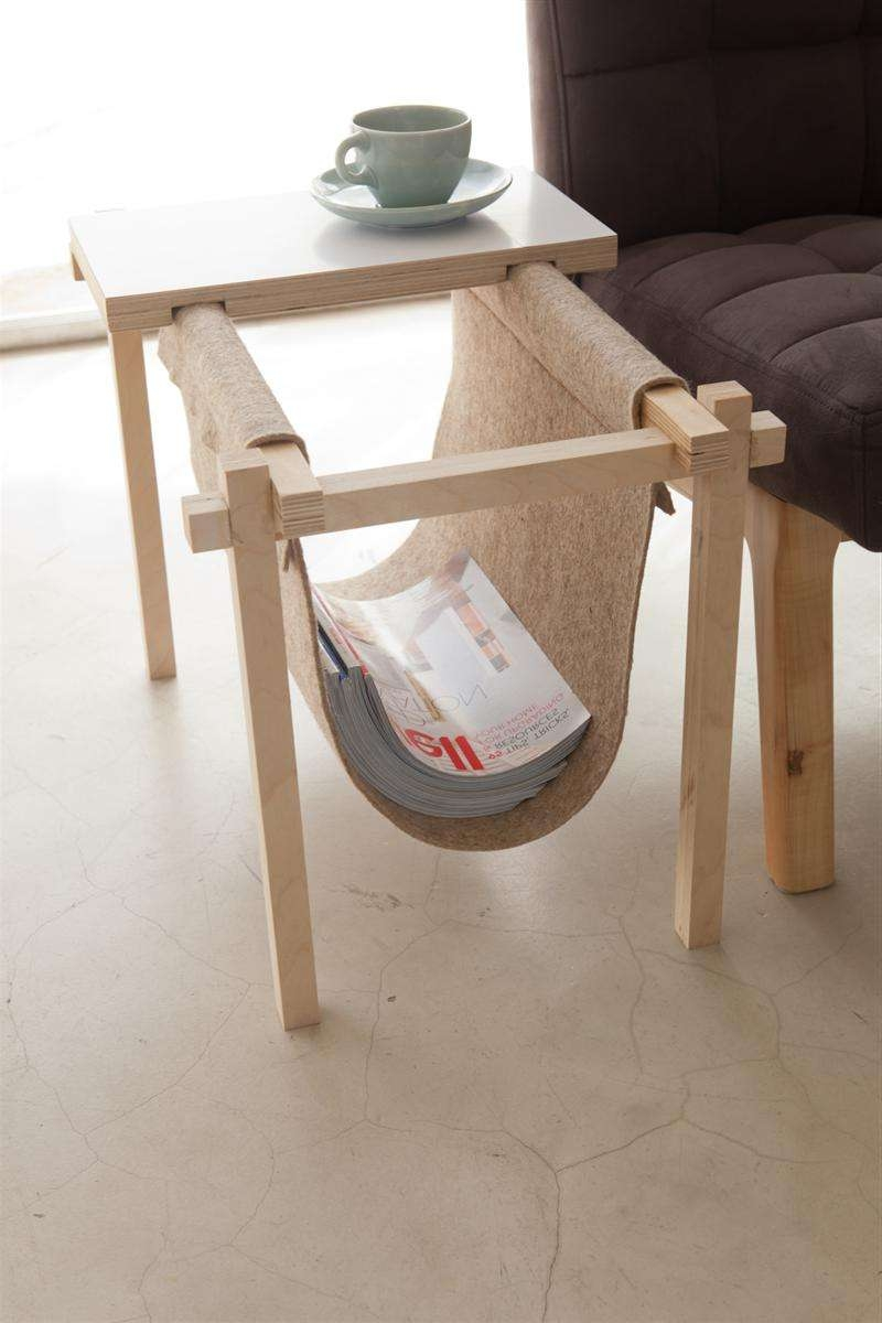 Recent Coffee Tables With Magazine Rack With Regard To All In One Magazine Rack And Coffe Tablechuck Routhier (View 3 of 20)