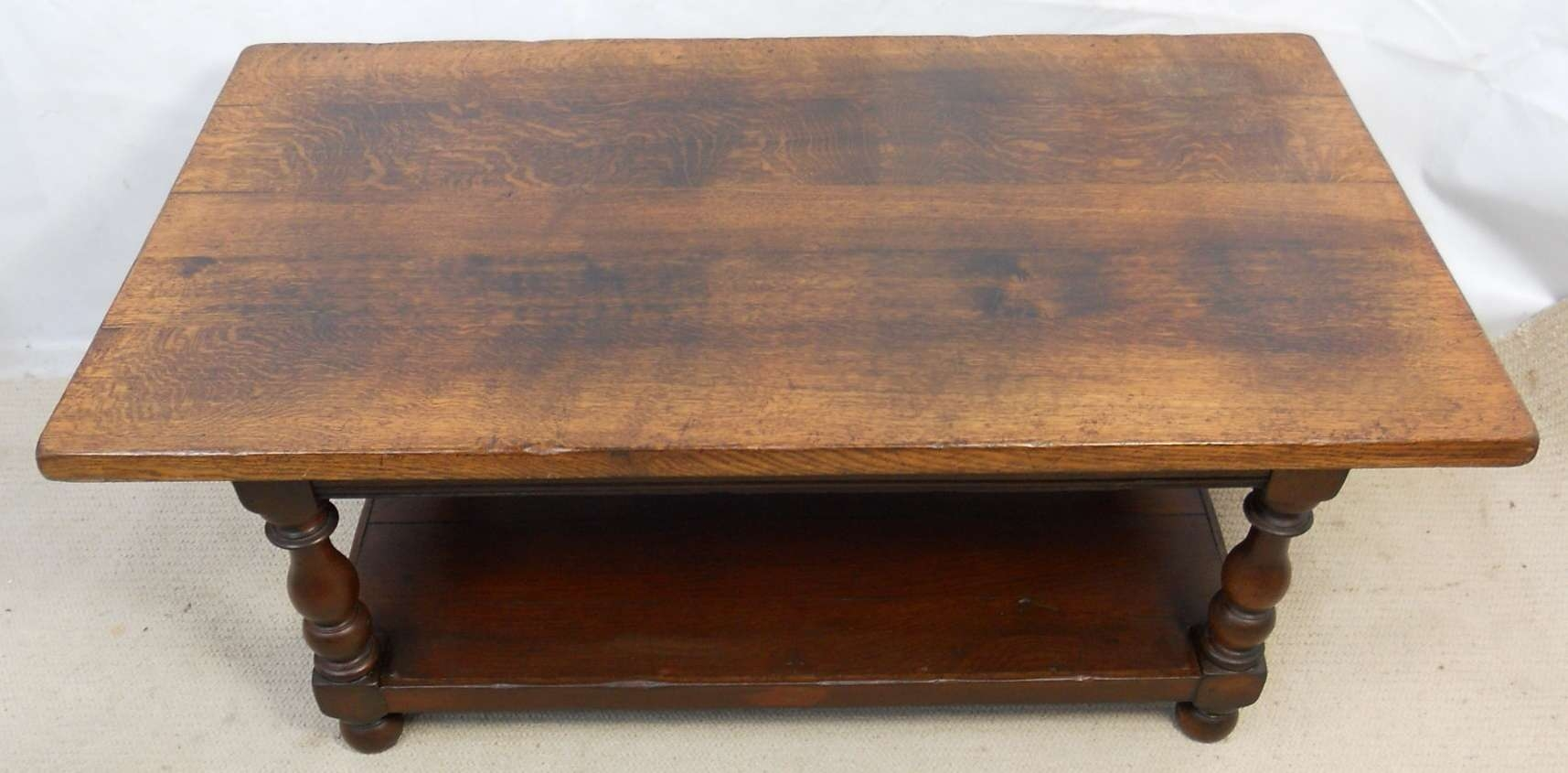 Recent Dark Oak Coffee Tables With Regard To Heavy Oak Coffee Table (View 17 of 20)