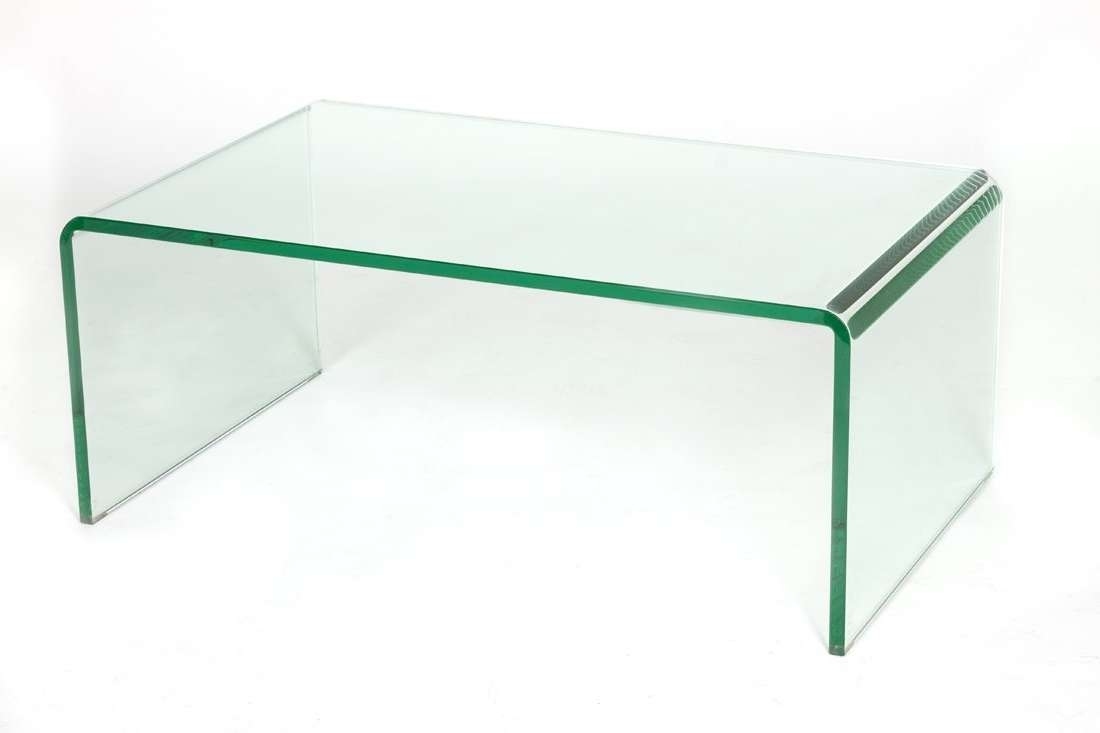 Recent Glass Coffee Tables Pertaining To Cracked Glass Coffee Table (View 4 of 20)