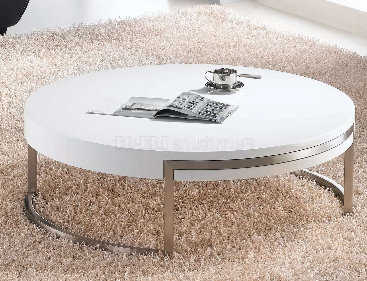 Recent Gloss Coffee Tables Inside Gloss White Coffee Table – Free Reference For Home And Interior (View 14 of 20)