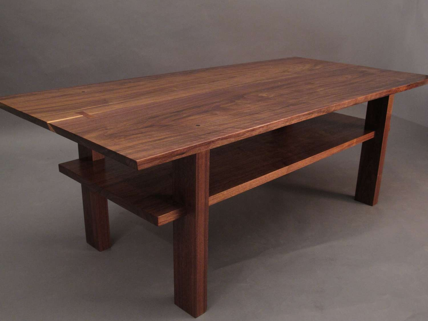 Recent Narrow Coffee Tables Inside Walnut Coffee Table Small Wood Tables For Living Room Narrow (View 4 of 20)