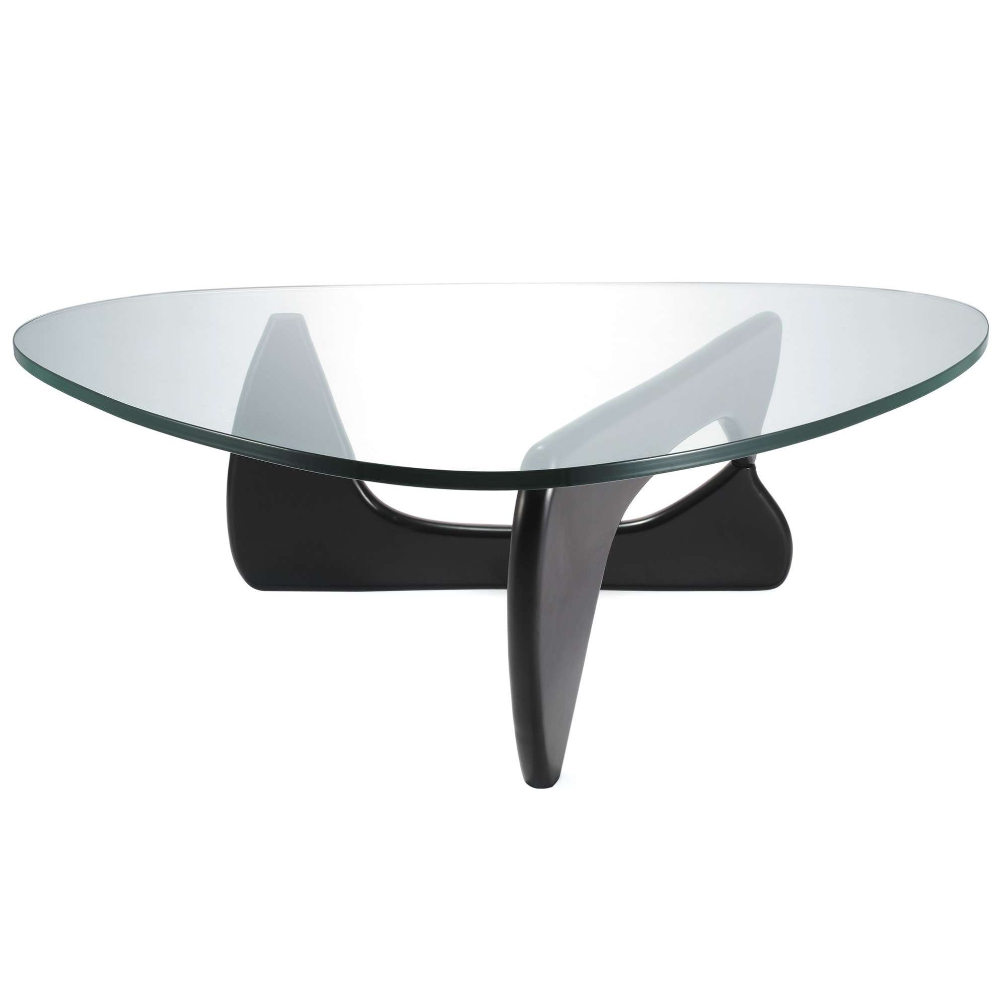 Recent Oval Black Glass Coffee Tables Throughout Coffee Table : Magnificent Black Glass Coffee Table Dining Table (View 17 of 20)
