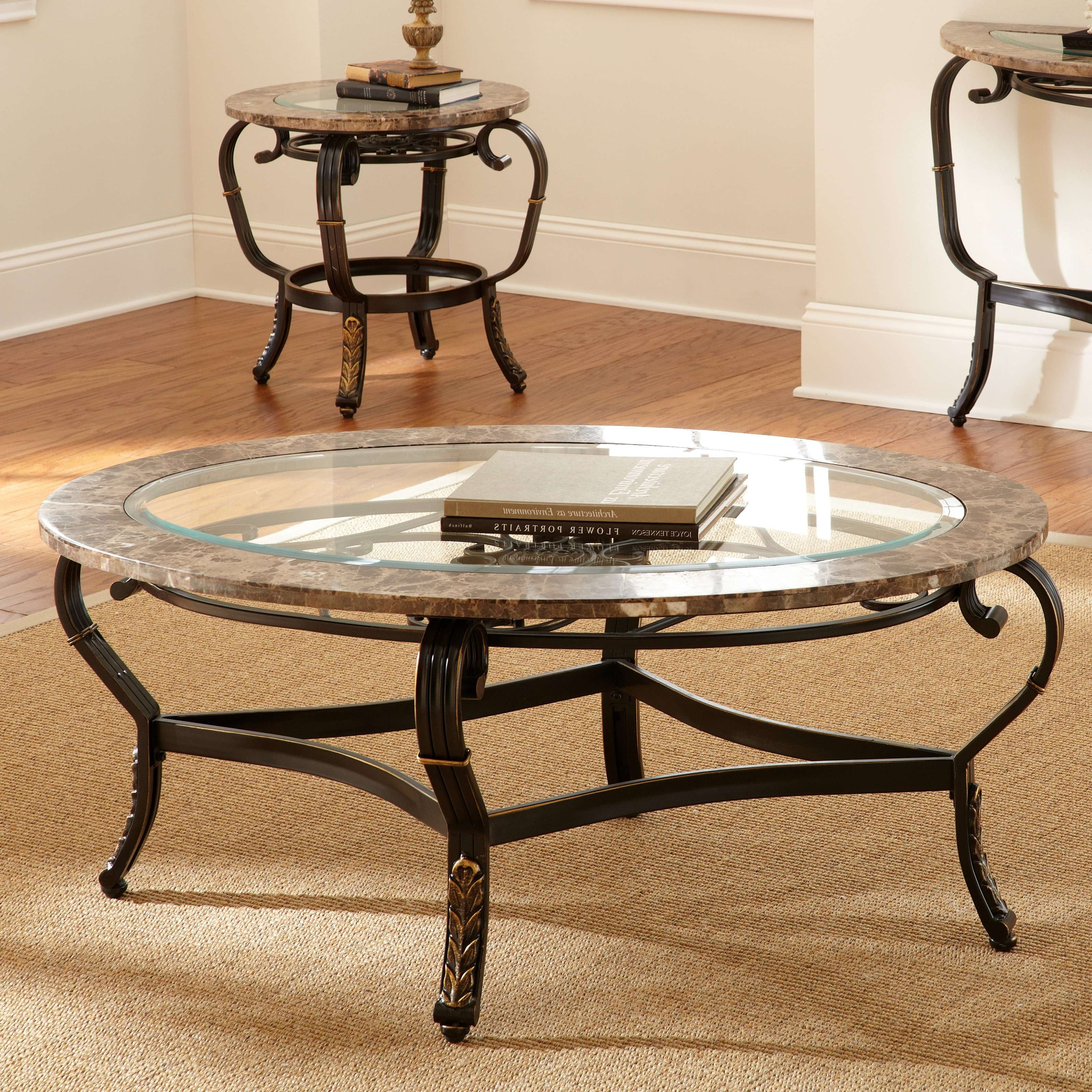 Recent Retro Glass Top Coffee Tables For Coffee Tables : Wrought Iron Coffee Table Legs Bases Cast Frame (View 11 of 20)