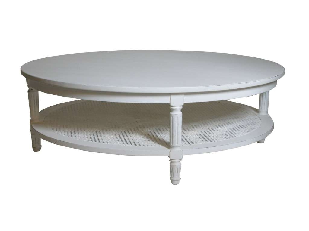 Recent Round Coffee Table Storages Inside White Round Coffee Table New Coffee Table Modern Round White With (View 15 of 20)