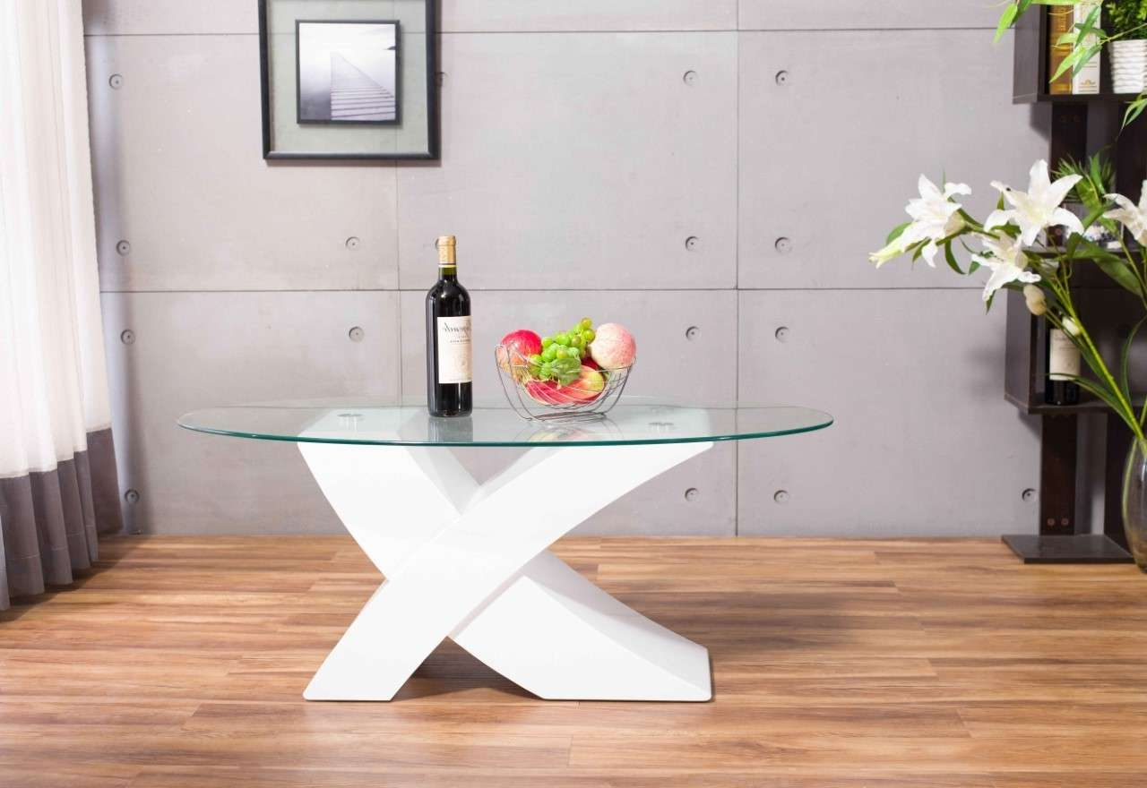 Recent White Gloss Coffee Tables Within Milano Coffee Table – White High Gloss (View 15 of 20)