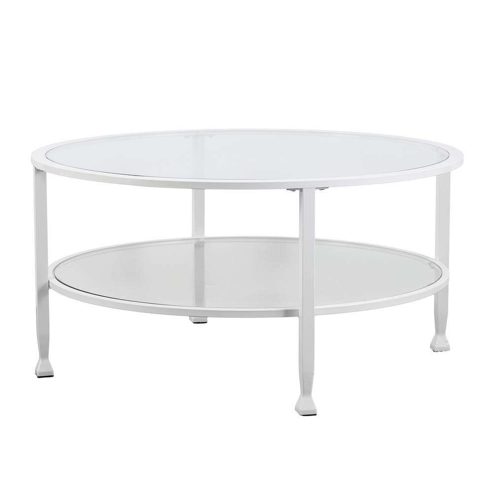 Recent White Oval Coffee Tables Pertaining To Oval – Coffee Tables – Accent Tables – The Home Depot (View 17 of 20)