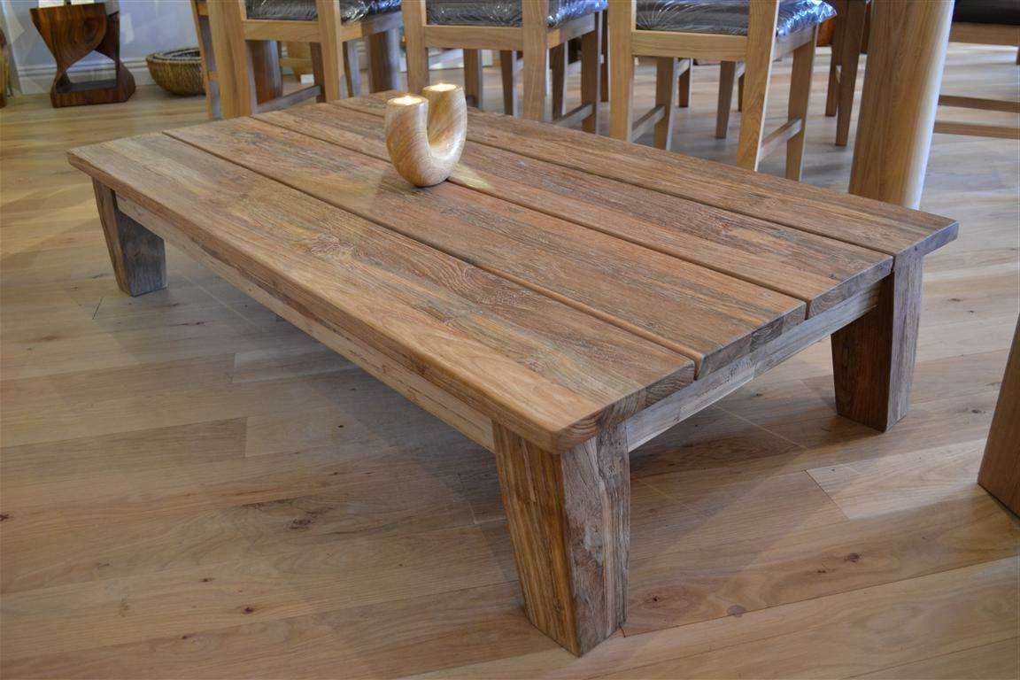 Reclaimed Wood Coffee Table Size — All Furniture : Unique For Widely Used Reclaimed Wood Coffee Tables (View 15 of 20)
