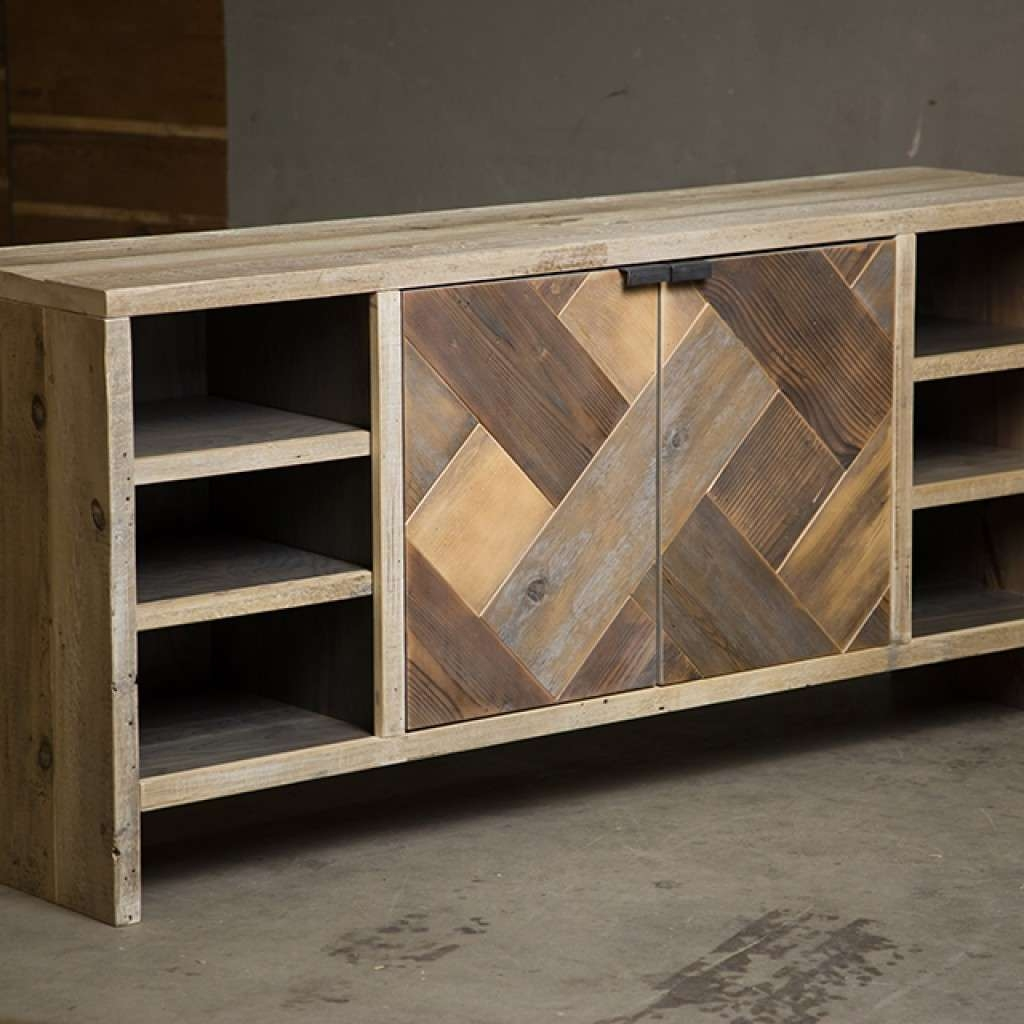 Reclaimed Wood Consoles And Sideboards Pertaining To Reclaimed Sideboards (View 16 of 20)