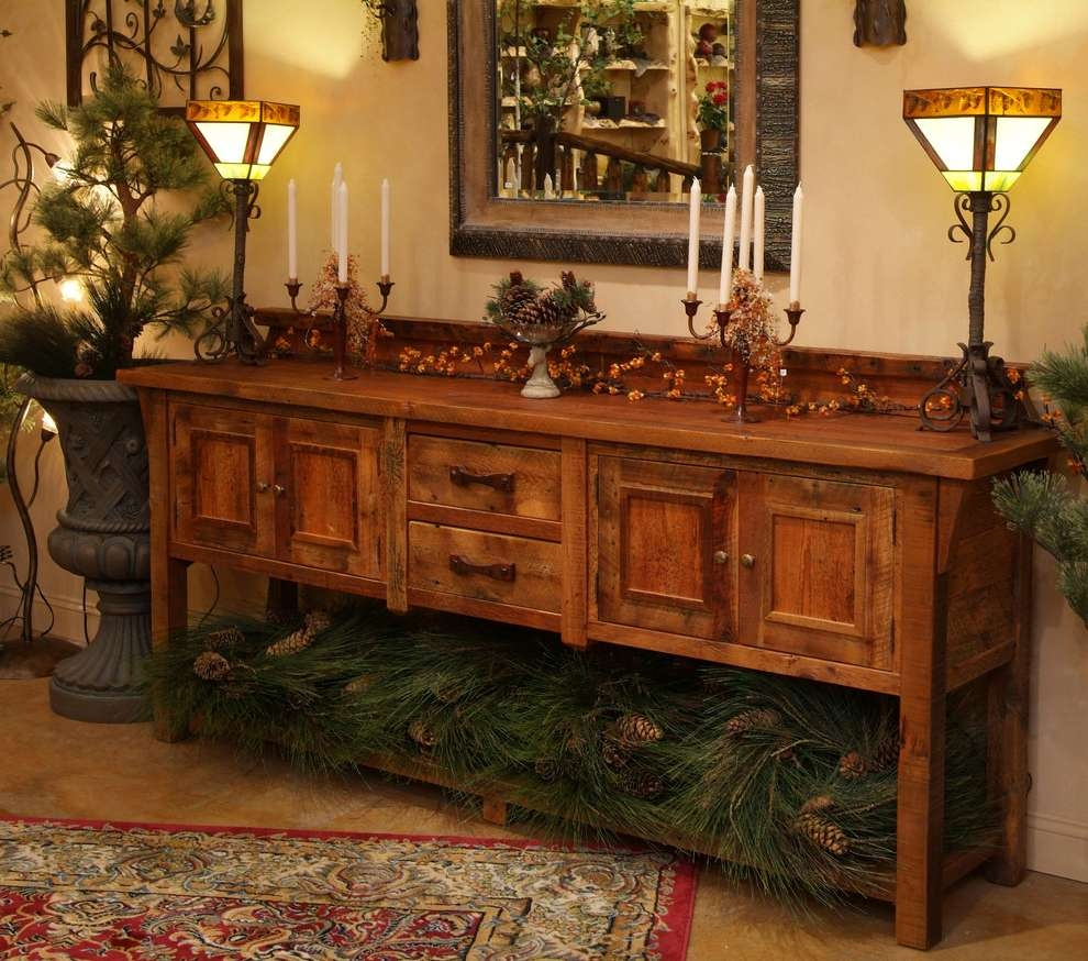 Reclaimed Wood Sideboard Dining Room Eclectic With Antique Wood With Eclectic Sideboards (View 6 of 20)
