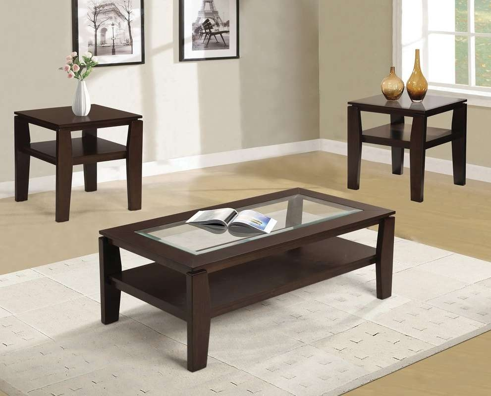 Red Barrel Studio Golder 3 Piece Coffee Table Set & Reviews (View 17 of 20)