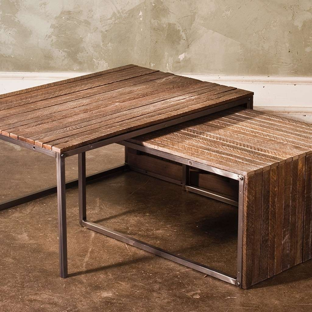 Relieving Tables Round Wood Nesting Tables Round Nesting Tables Inside Most Popular Nest Coffee Tables (View 12 of 20)