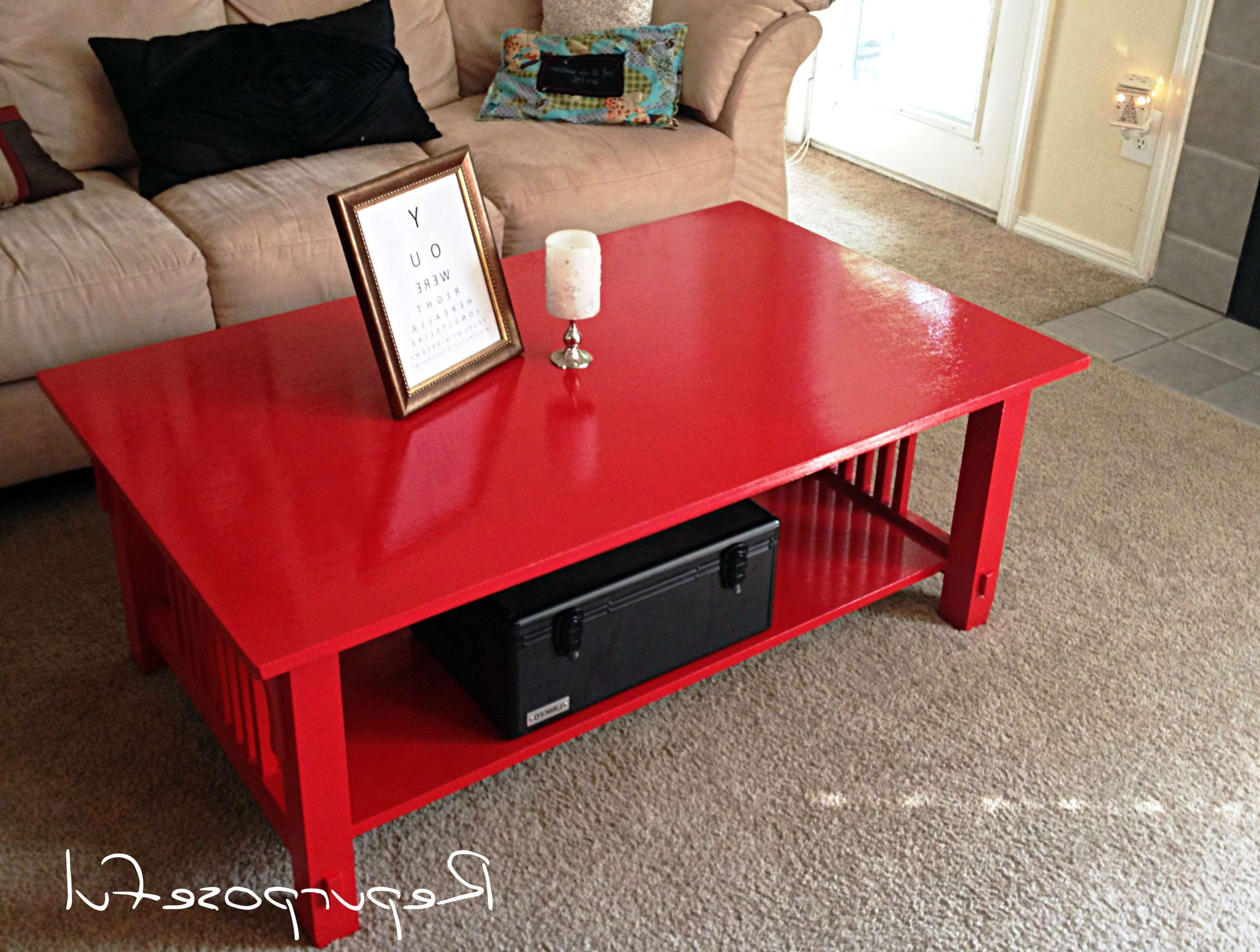 Featured Photo of Red Gloss Coffee Tables