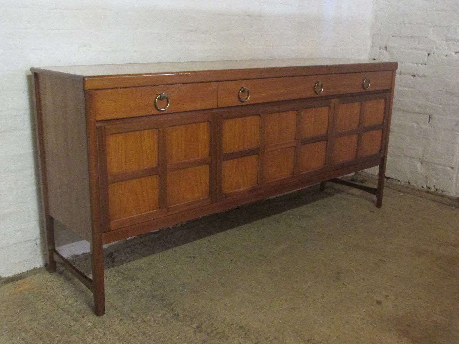Retro 1960s/1970s Nathan Large Six Foot Teak Sideboard With In 6 Foot Sideboards (View 18 of 20)