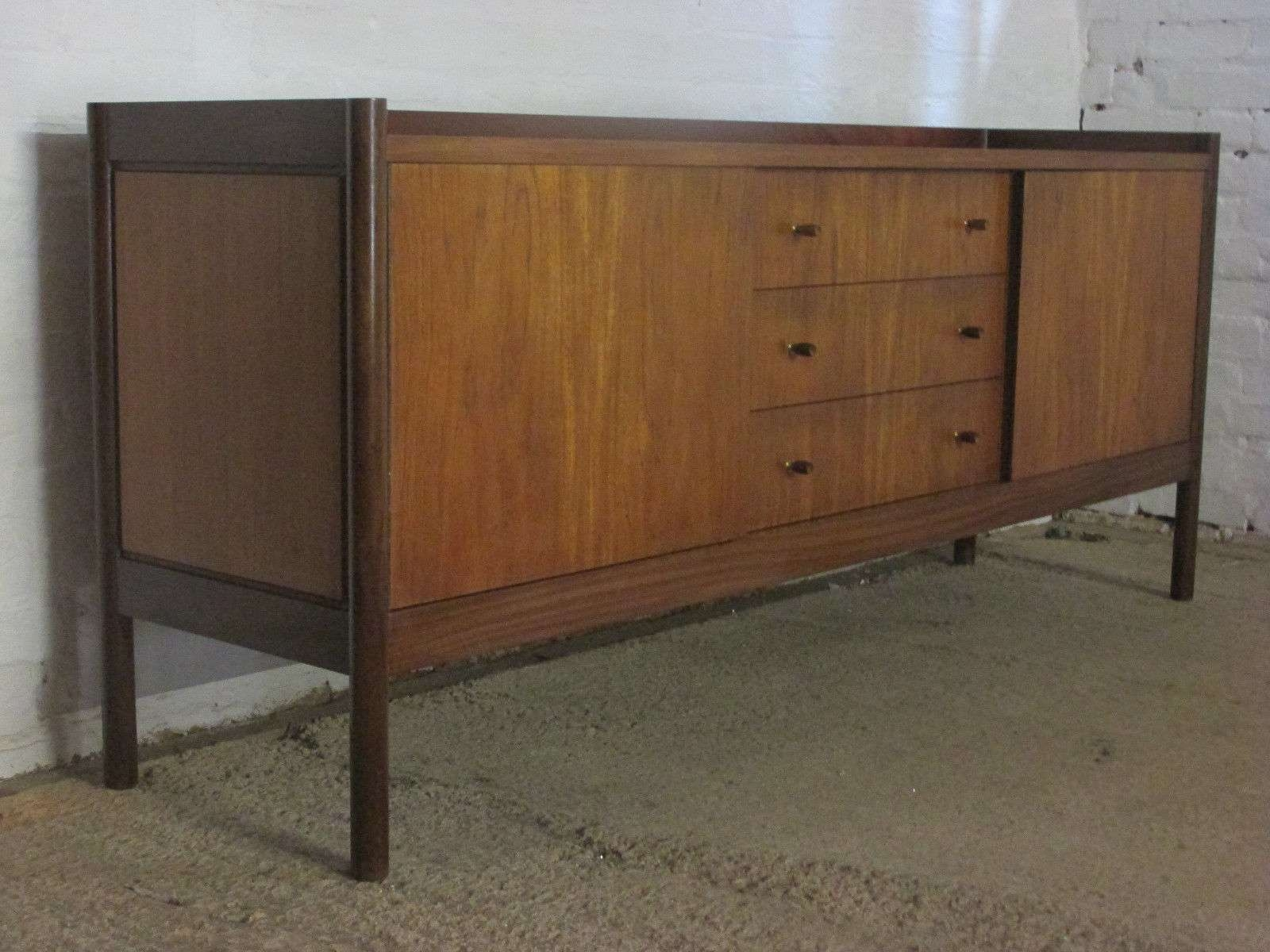 Retro 1960S/1970S Vanson Large Six Foot Teak Sideboard With Pertaining To 7 Foot Sideboards (View 15 of 20)