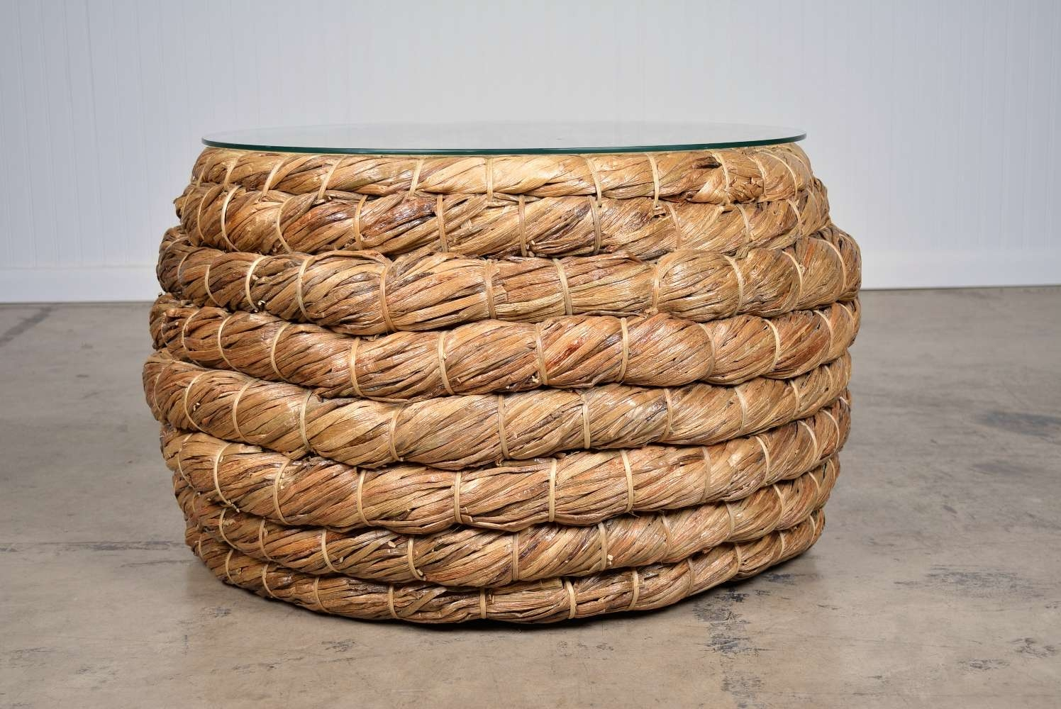 Rope Coffee Table Pertaining To Most Recent Round Woven Coffee Tables (View 14 of 20)