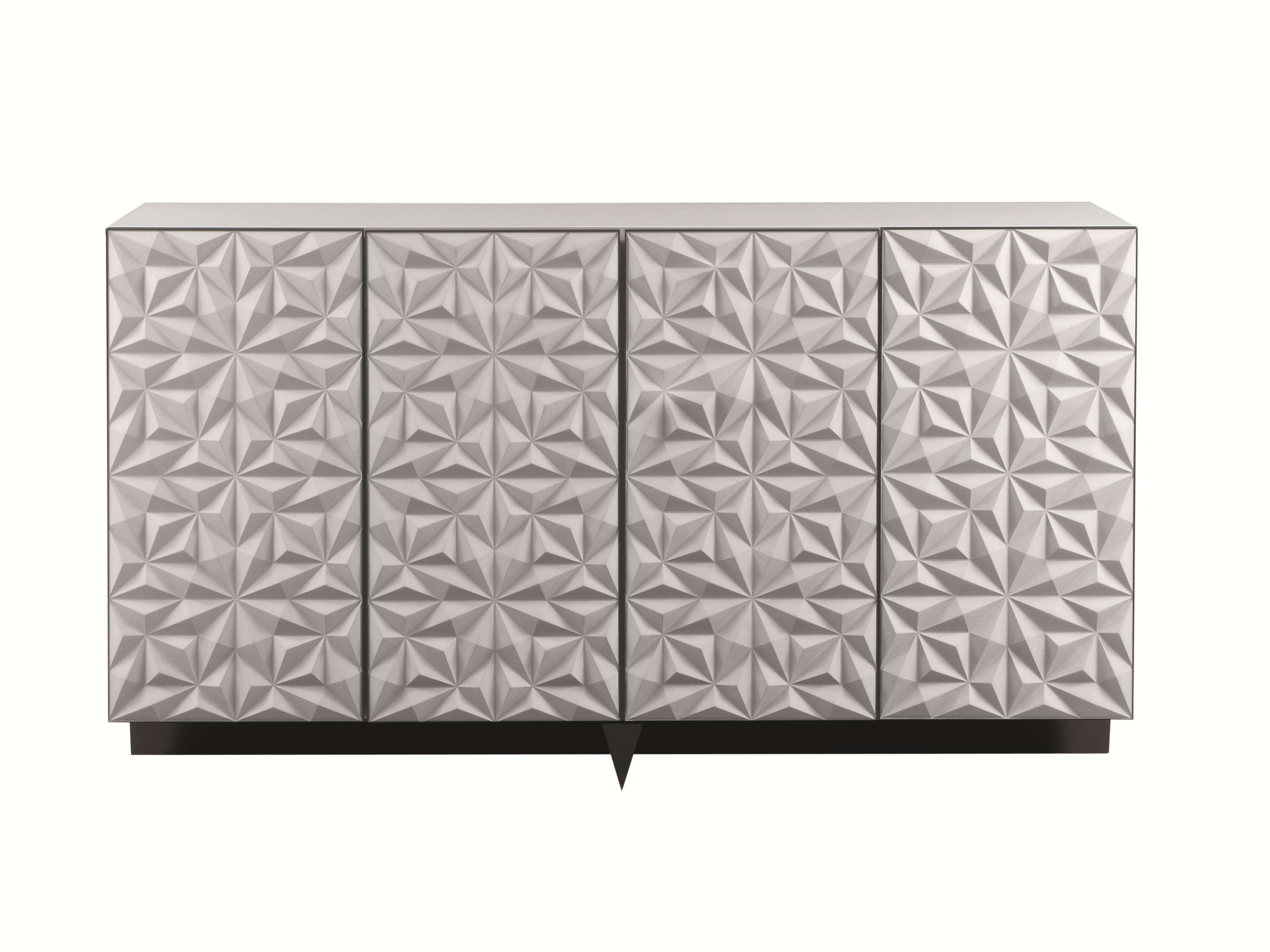 Rosace | Lacquered Highboard Les Contemporains Collectionroche Within Roche Bobois Sideboards (View 8 of 20)