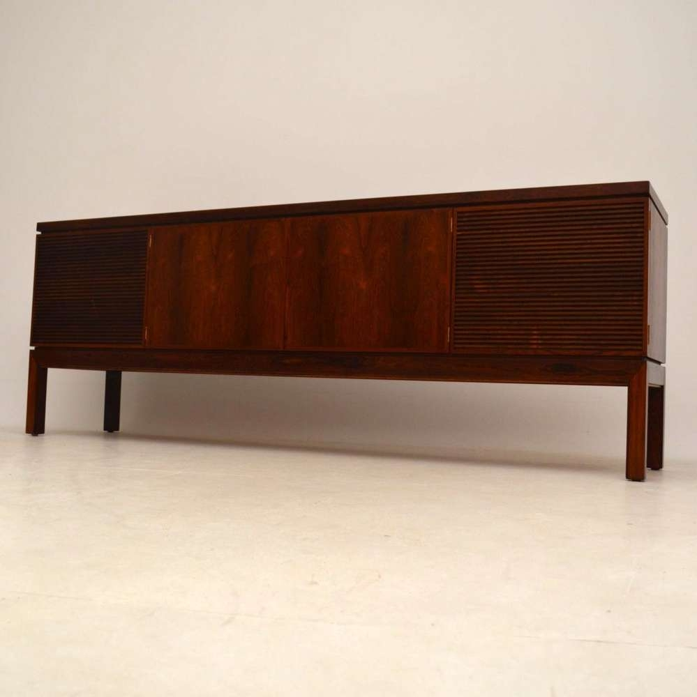 Rosewood Retro Sideboardrobert Heritage For Archie Shine In Retro Sideboards (View 19 of 20)