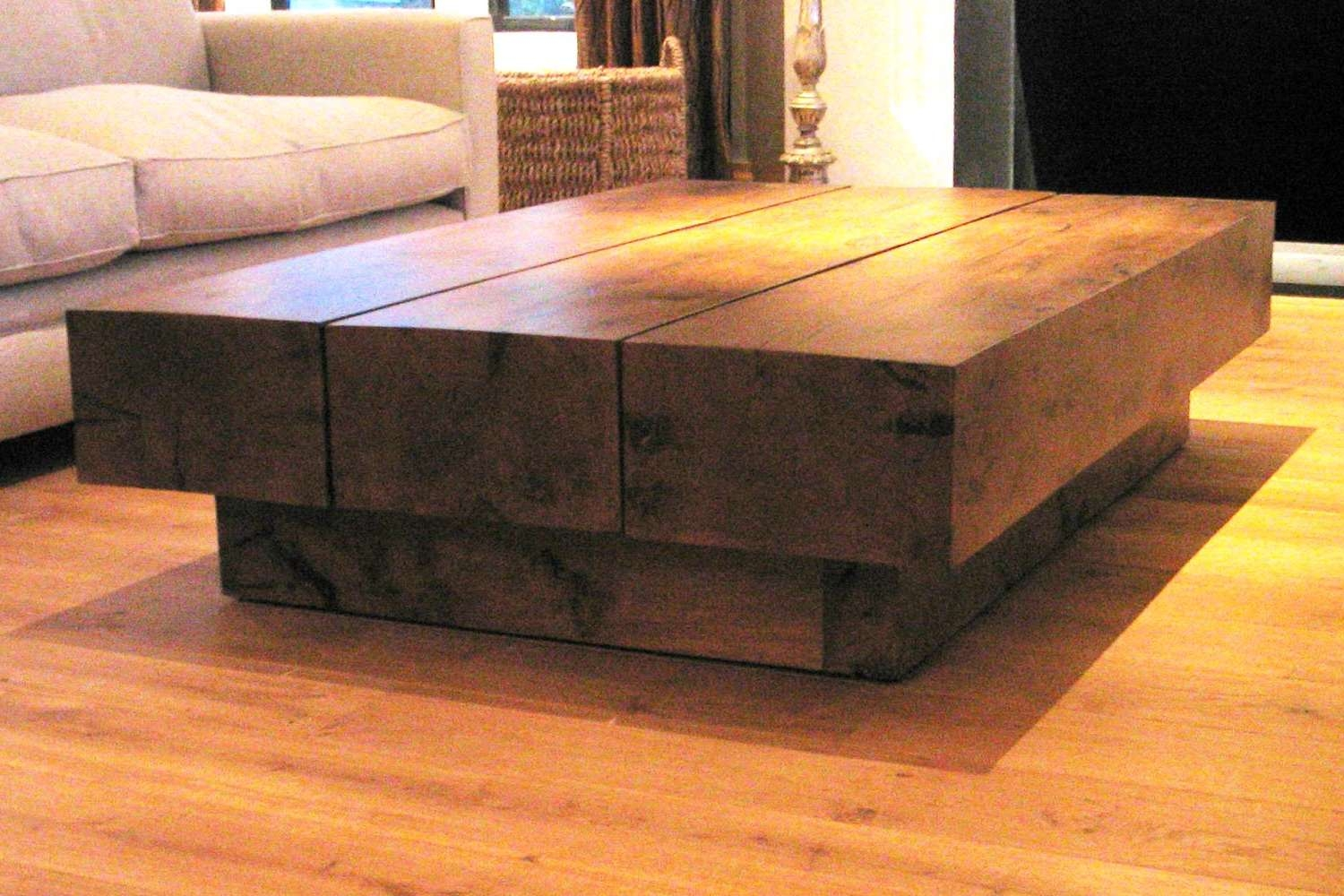 Ross Langley Bespoke Furniture And Joinery Pertaining To Well Known Oak Beam Coffee Tables (View 15 of 20)