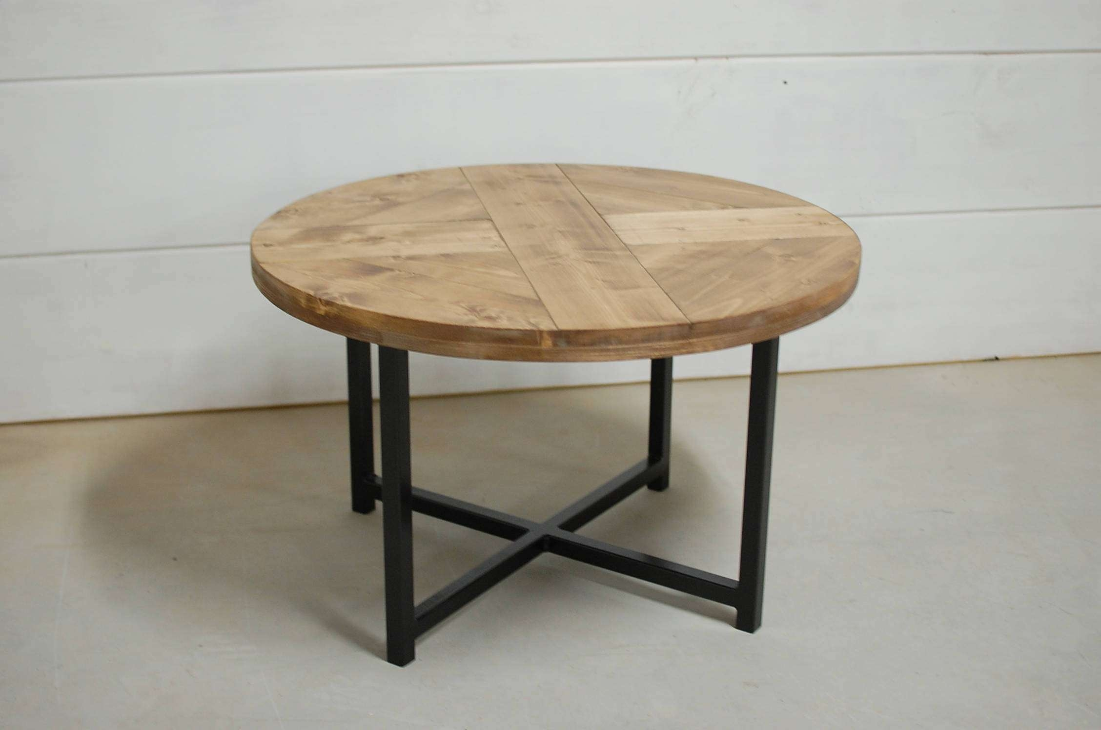 Featured Photo of Industrial Round Coffee Tables