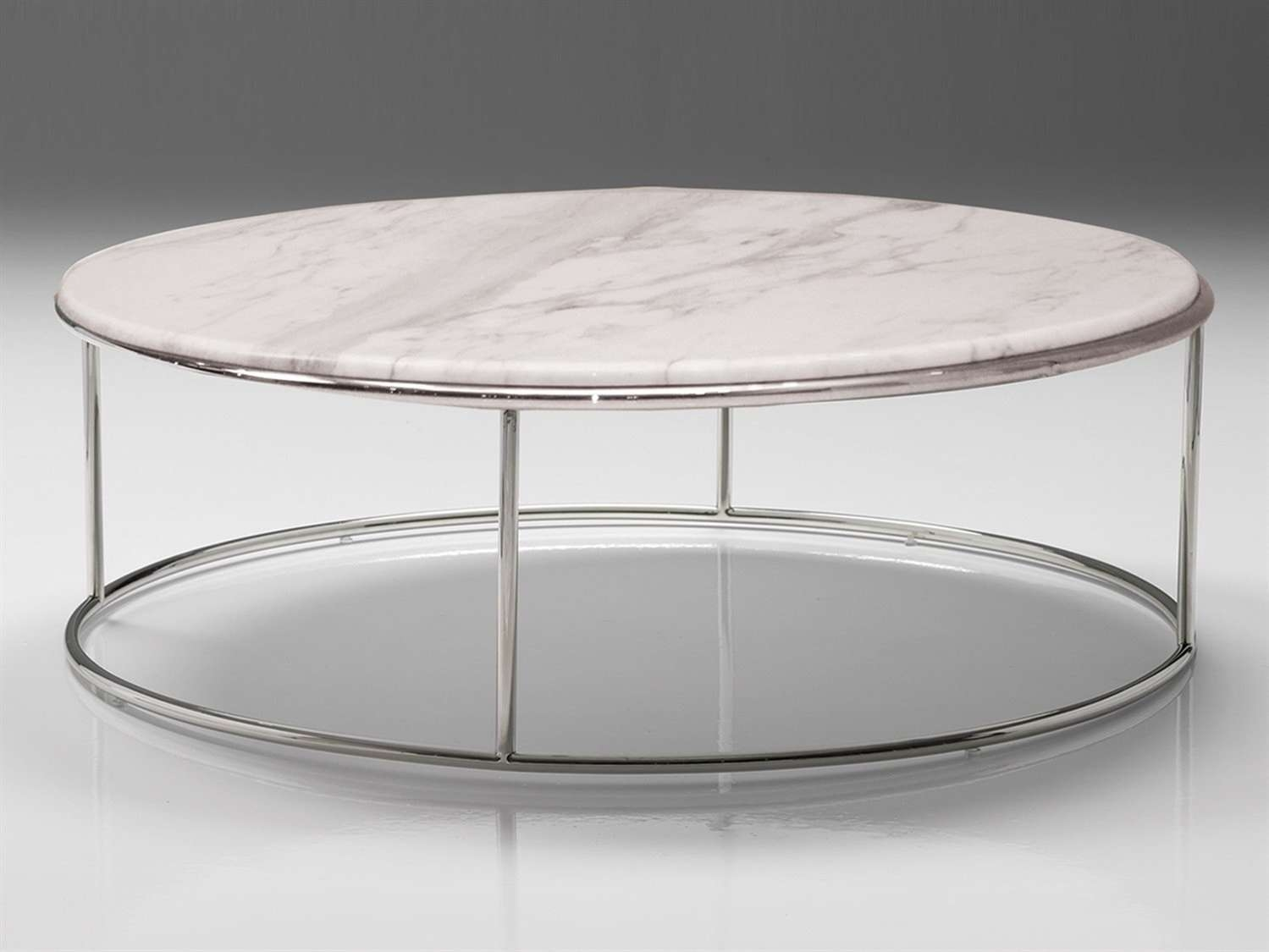 Round Marble Coffee Table Pertaining To 2018 White Marble Coffee Tables (View 16 of 20)