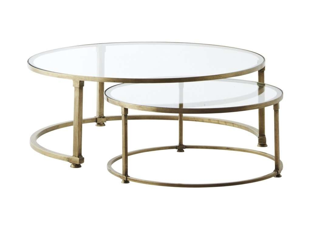 Gallery of nest coffee tables view 14 of 20 photos round nesting coffee table beautiful glass nest of coffee tables throughout preferred nest coffee tables watchthetrailerfo