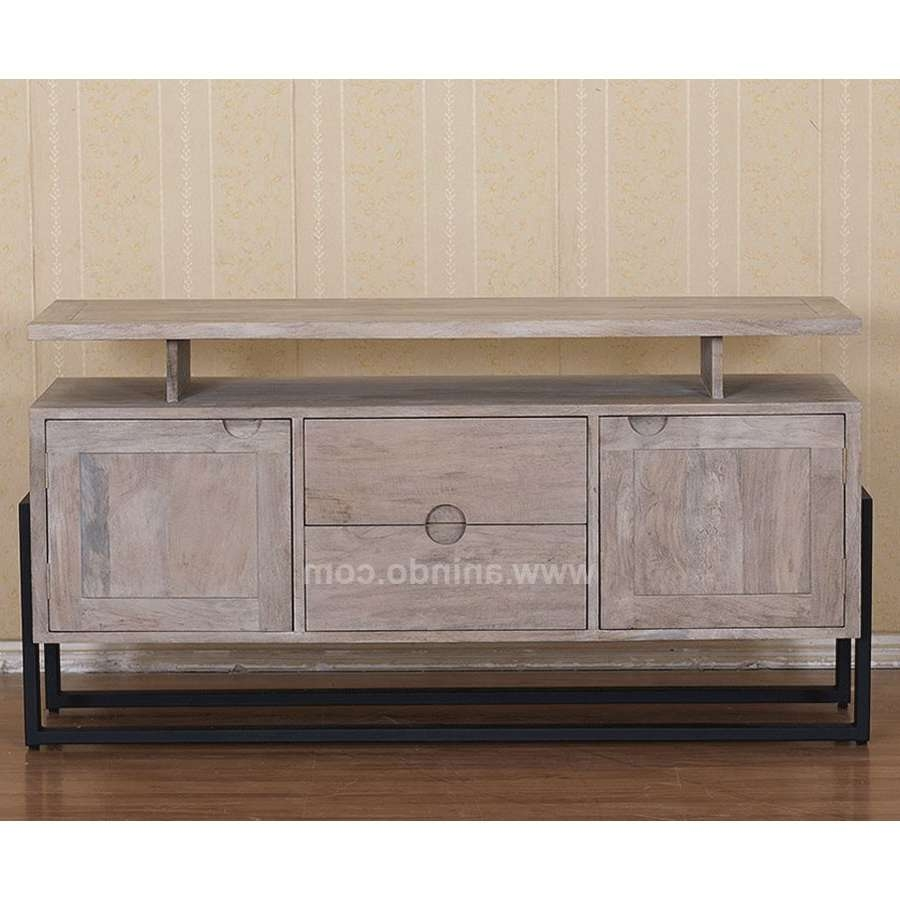 Rozi Mango Wood Tv Cabinet With Regard To Mango Wood Tv Cabinets (View 11 of 20)