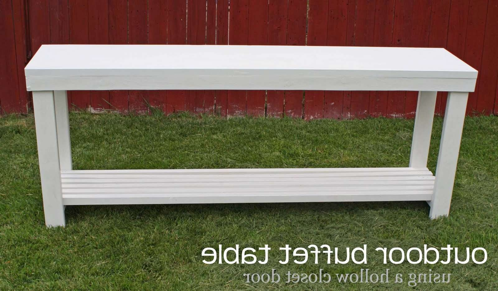 Running With Scissors: Outdoor Console Table Intended For Outdoor Sideboards With Console Table (View 15 of 20)