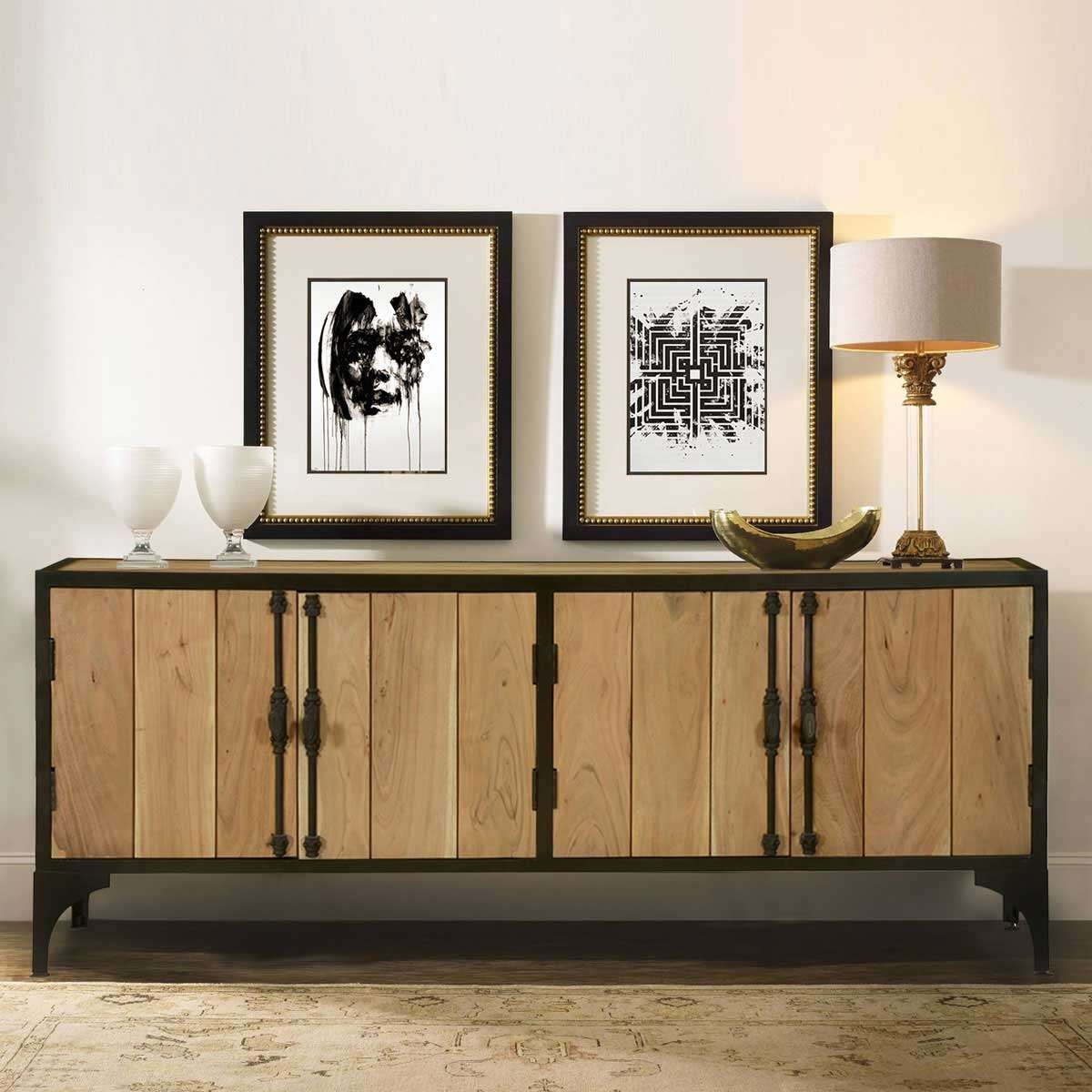 Rustic Buffets Sideboards For Industrial Sideboards (View 17 of 20)