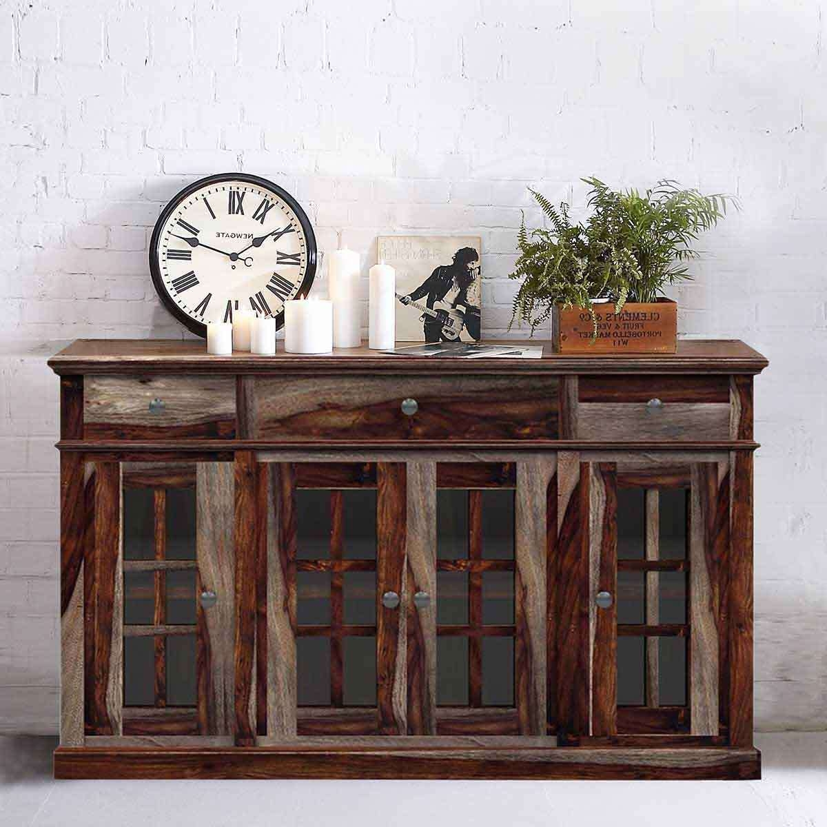Rustic Buffets Sideboards Intended For Rustic Buffet Sideboards (View 7 of 20)