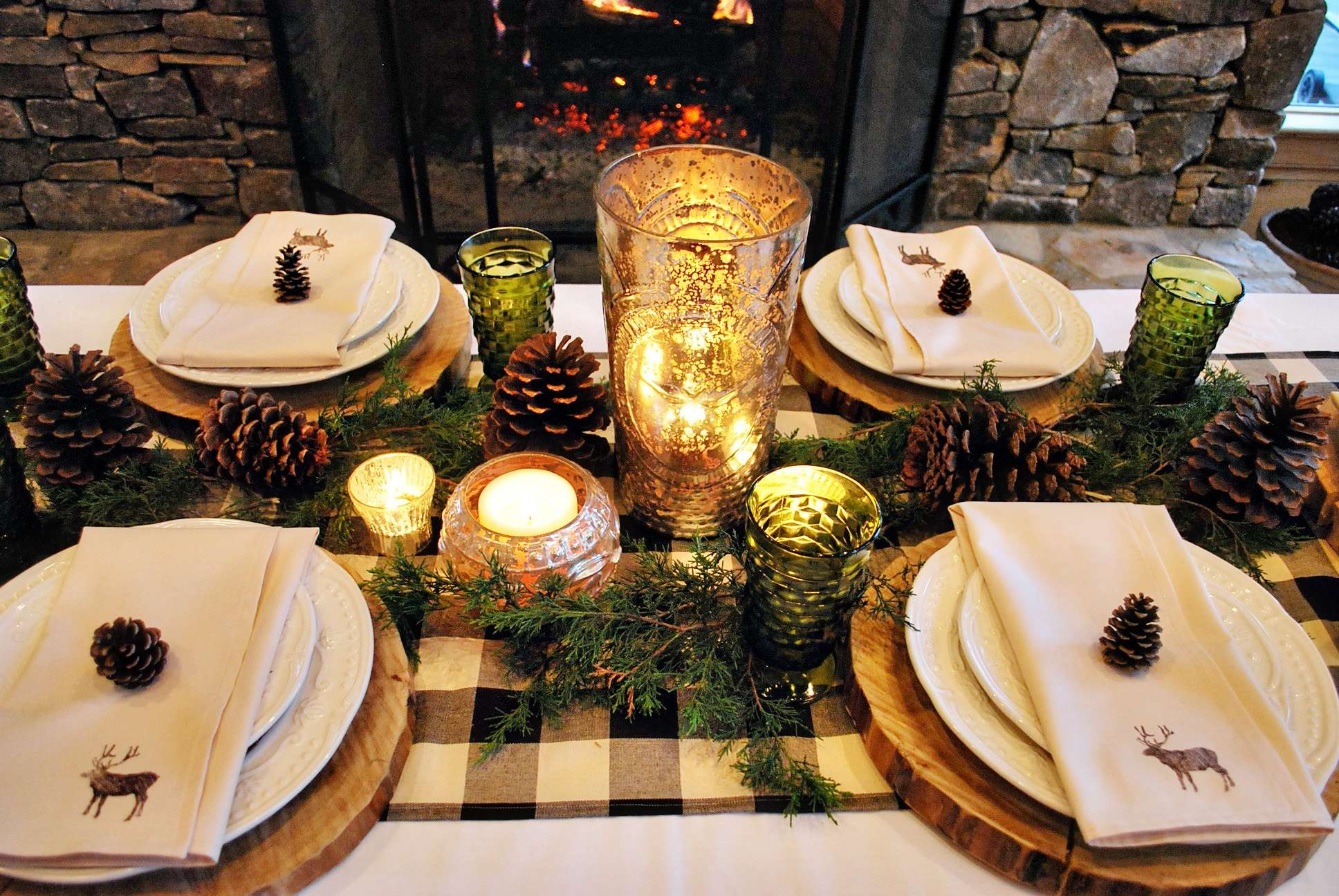 Rustic Christmas Decor Ideas That Will Warm Your Heart Page 2 Of 3 With 2018 Rustic Christmas Coffee Table Decors (View 15 of 20)