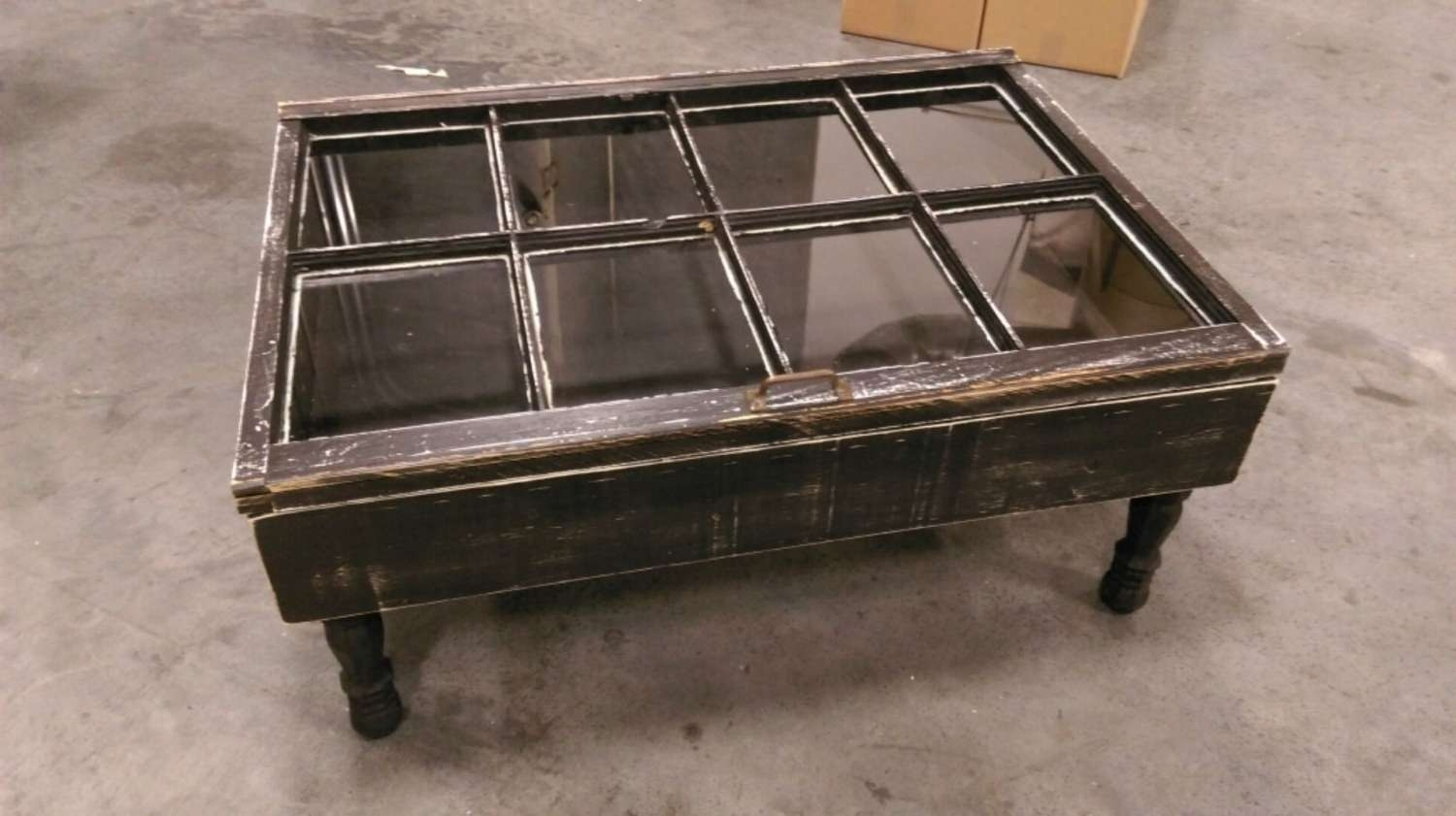 Rustic Coffee Table Shadow Box Coffee Table Reclaimed Intended For Trendy Rustic Coffee Table With Wheels (View 9 of 20)