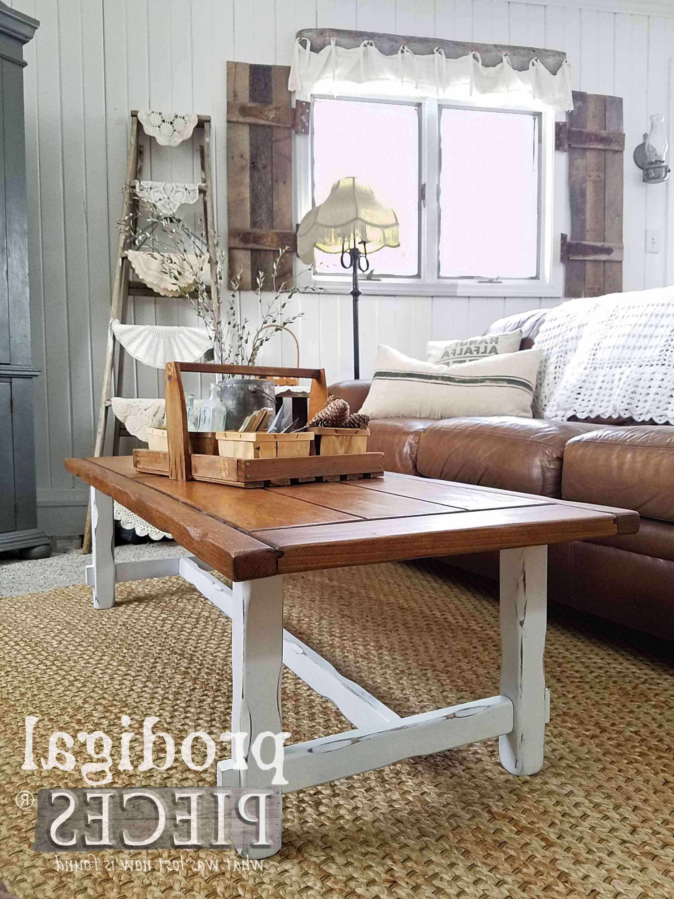 Rustic Farmhouse Coffee Table – Prodigal Pieces Throughout Recent Farmhouse Coffee Tables (View 18 of 20)