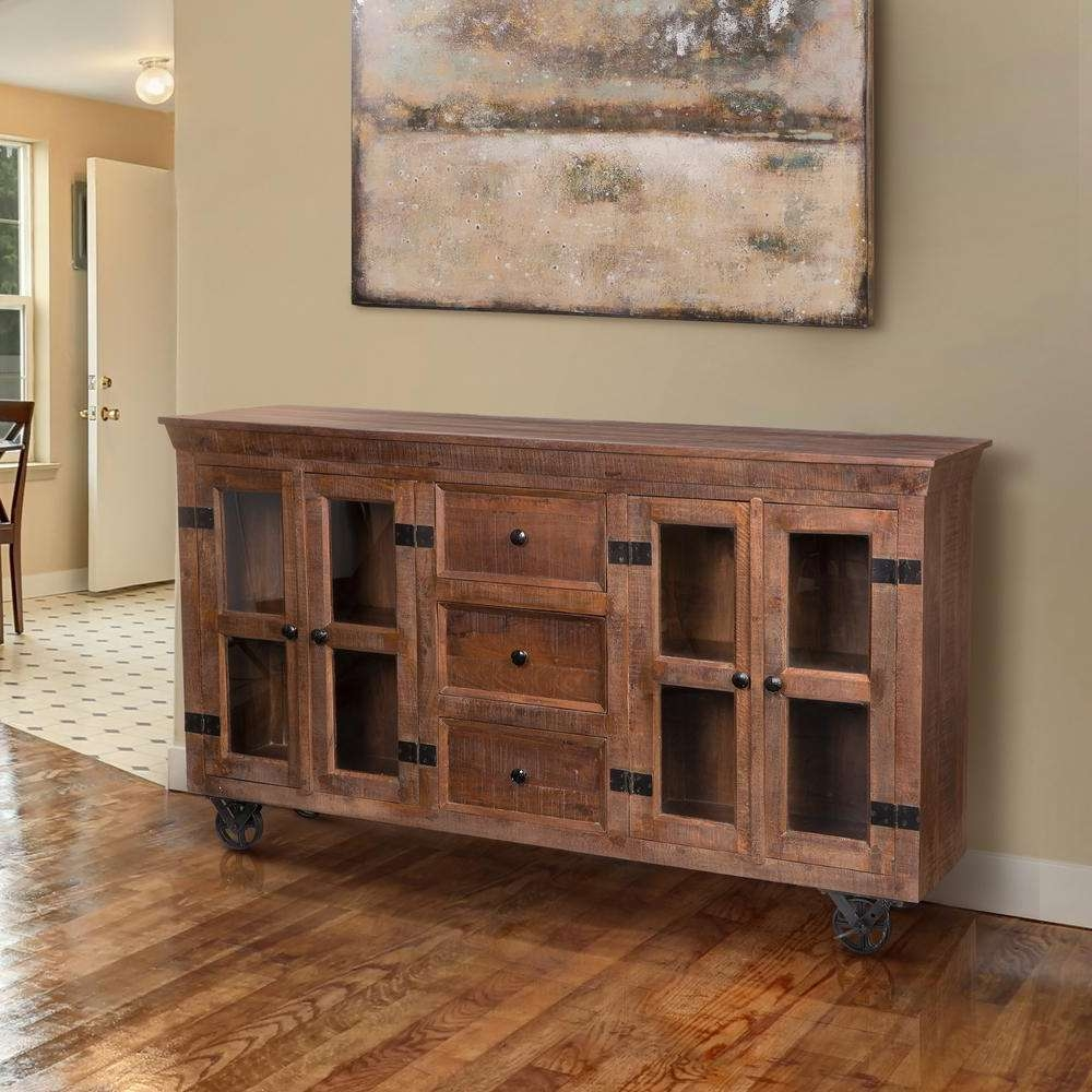 Rustic – Sideboards & Buffets – Kitchen & Dining Room Furniture With Buffets And Sideboards (View 11 of 20)