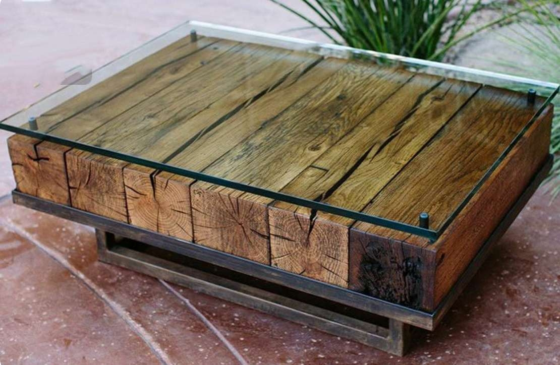 Rustic Wood Coffee Table Style : Choosing Rustic Wood Coffee Table Within Fashionable Rustic Wooden Coffee Tables (View 15 of 20)