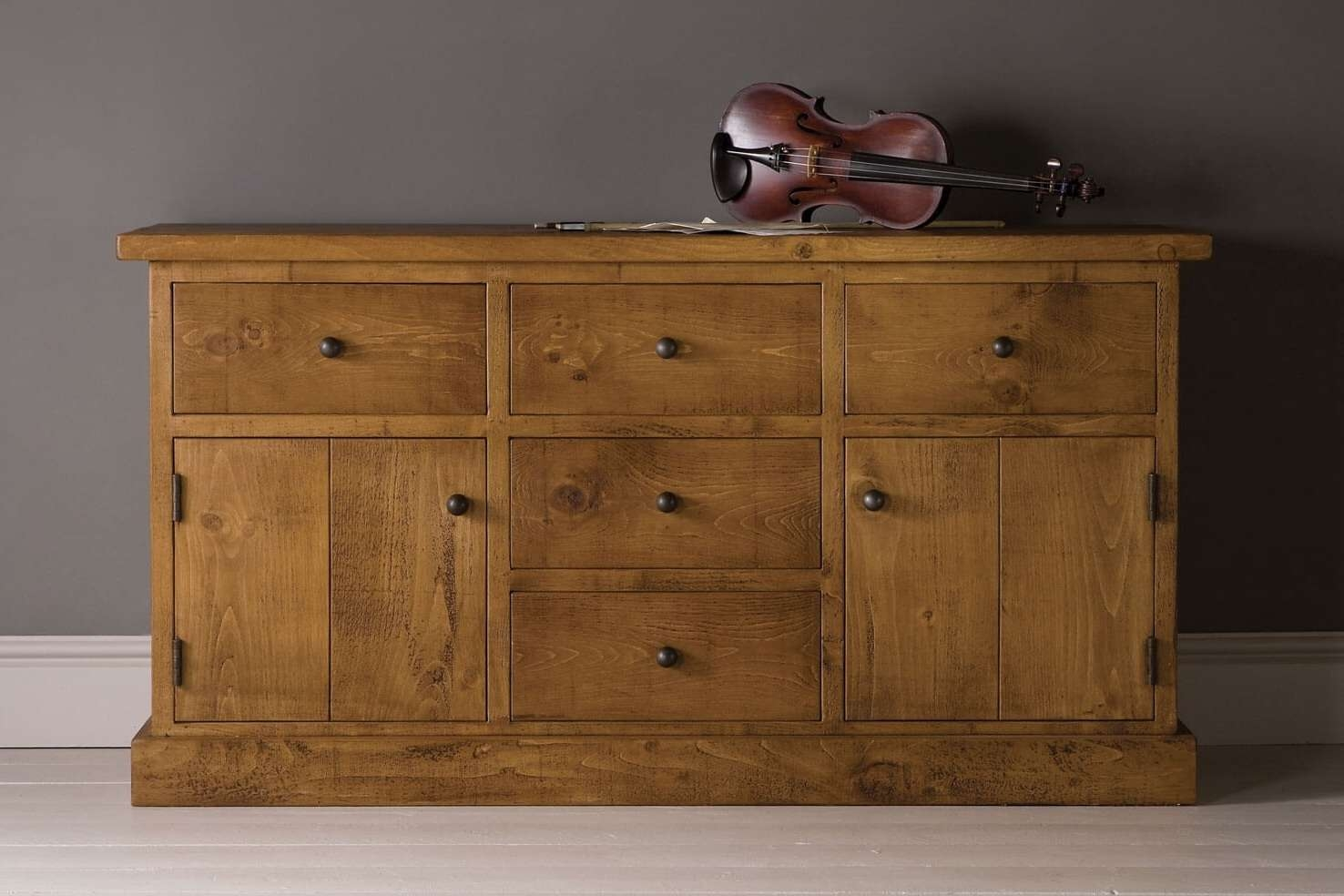 Rustic Wooden Sideboards | Oak & Pine | Indigo Furniture In Pine Sideboards (View 16 of 20)