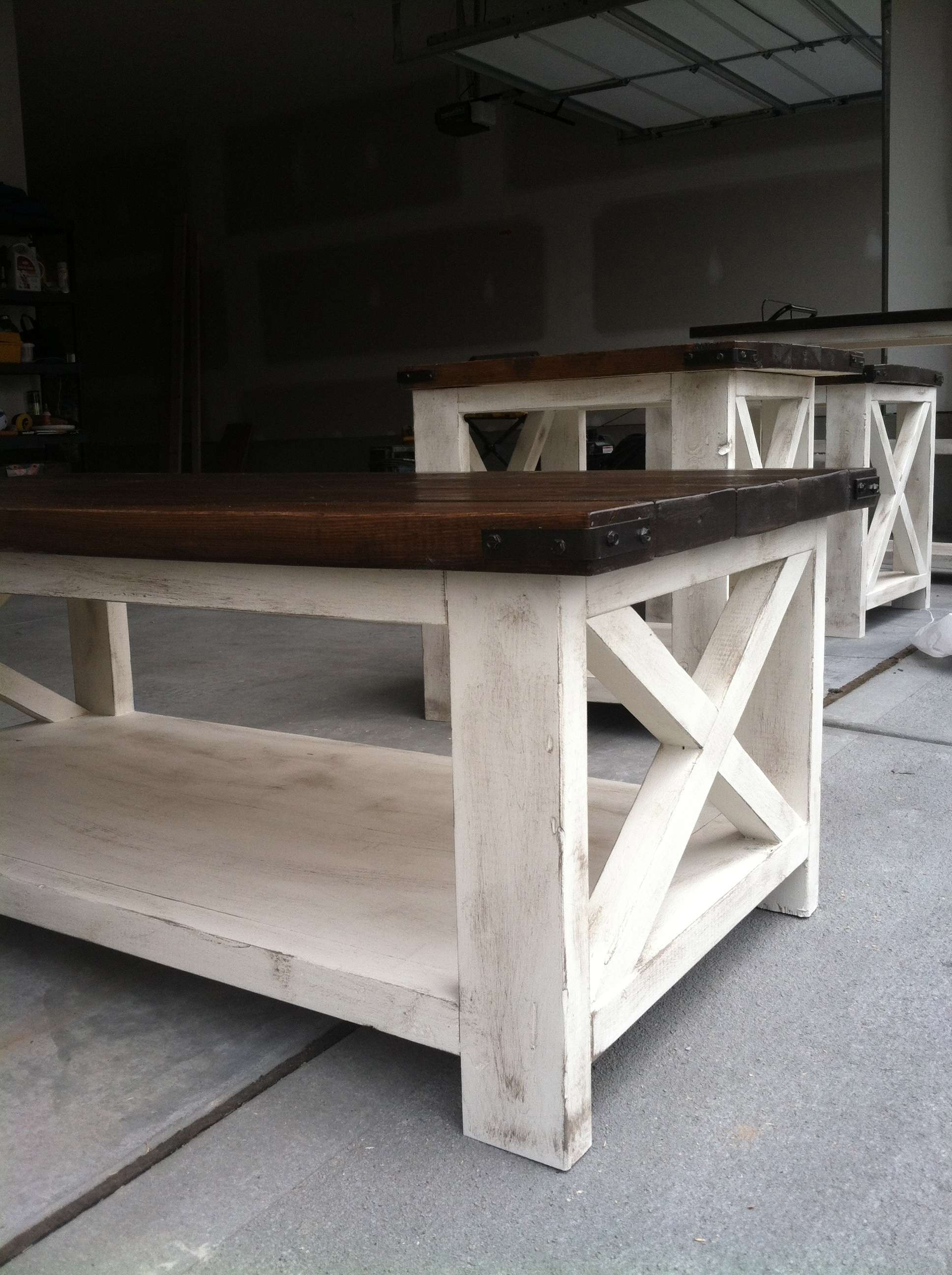 Rustic X Coffee Table – Diy Projects (View 2 of 20)