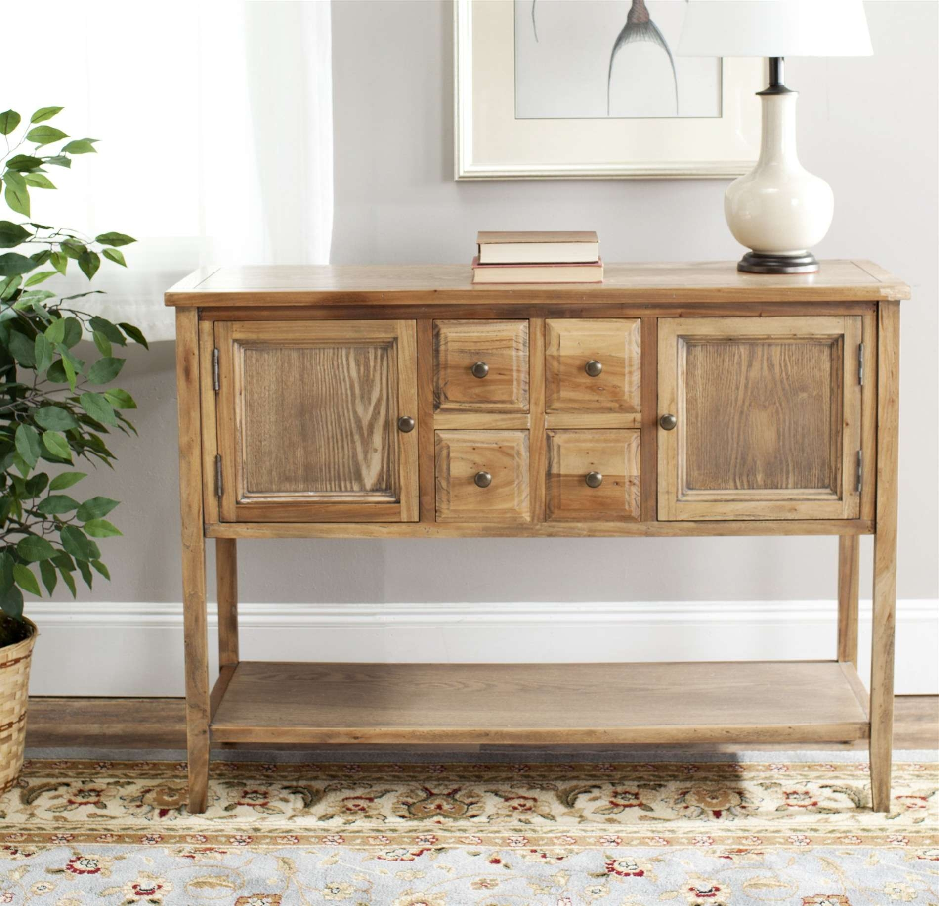 Safavieh Amh6517A Charlotte Sideboard Sfv Amh6517A Regarding Safavieh Sideboards (View 8 of 20)