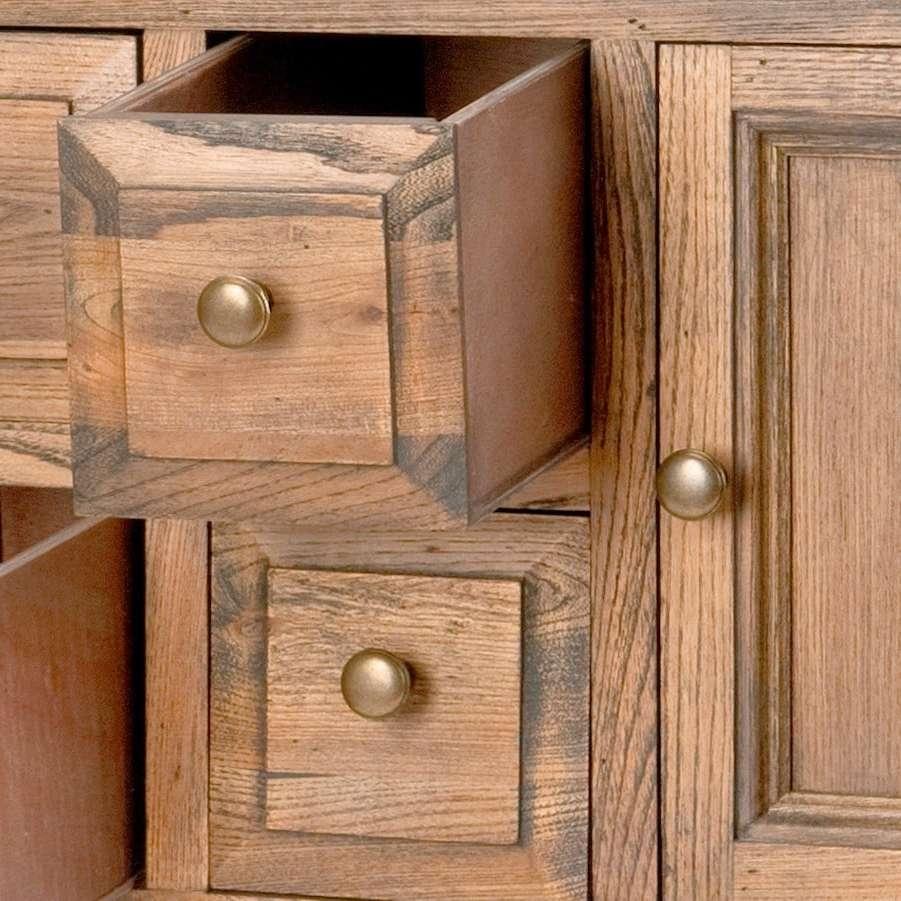 Safavieh Brighton Oak Finish Storage Sideboard – Free Shipping Regarding Safavieh Sideboards (View 12 of 20)
