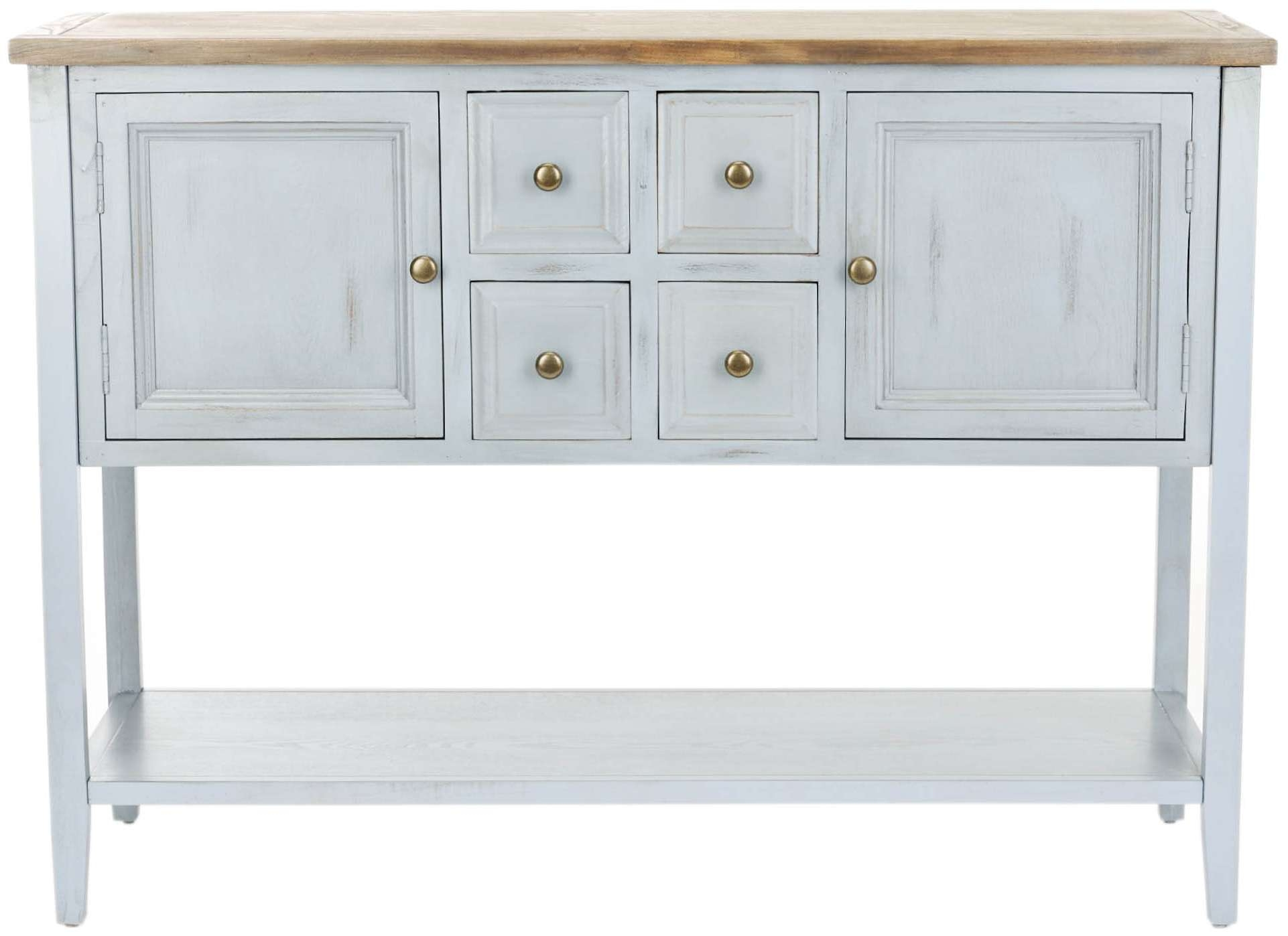 Safavieh Charlotte Sideboard – Walmart Intended For Safavieh Sideboards (View 5 of 20)