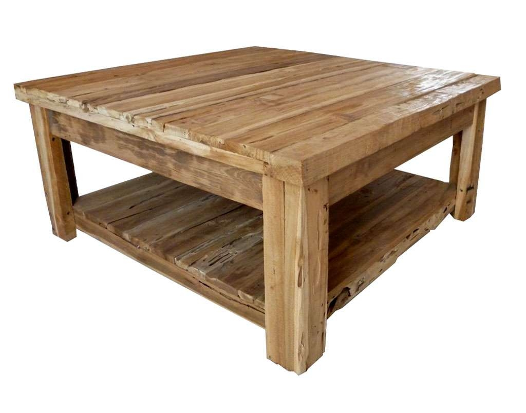 Salient Photos Gallery Solid Wood Coffee Table Designs Solid Wood In Trendy Large Solid Wood Coffee Tables (View 9 of 20)