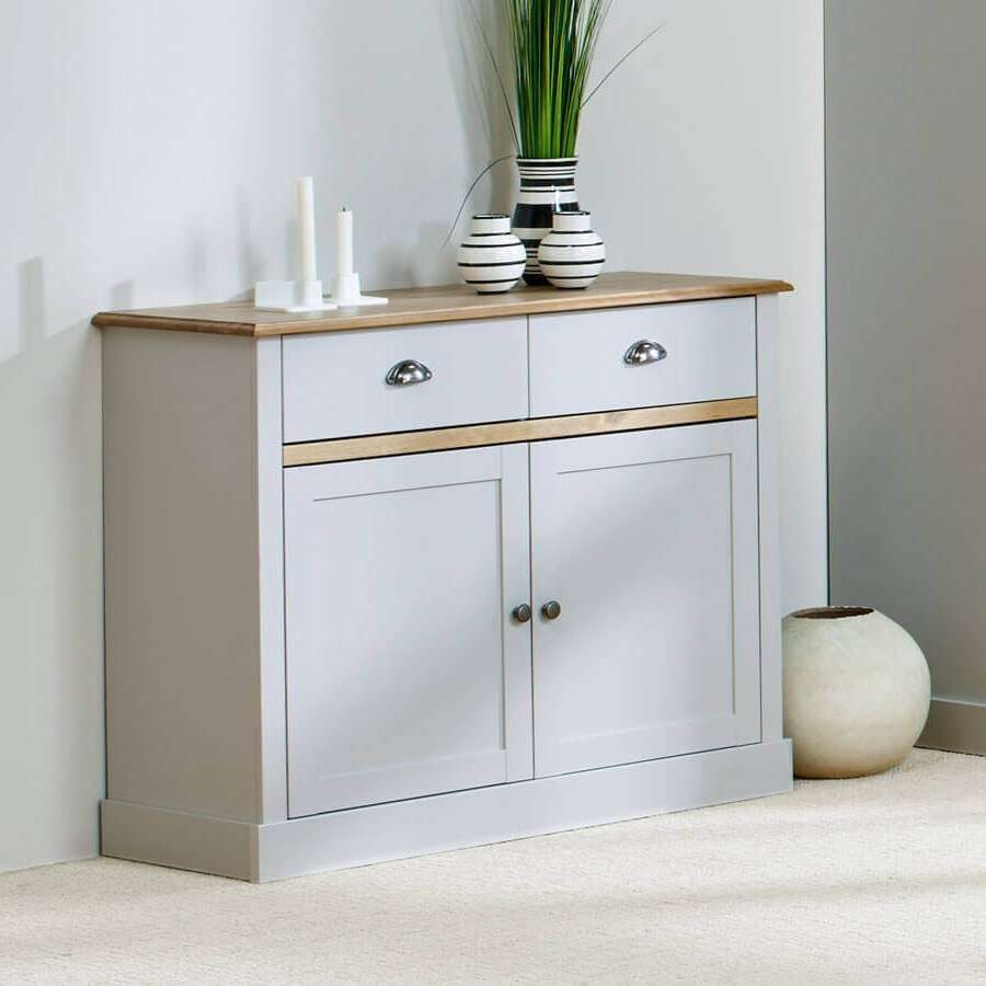 Sandy Grey Large And Small Sideboards | Sideboards Online – Zurleys Uk Regarding Small Sideboards (View 14 of 20)