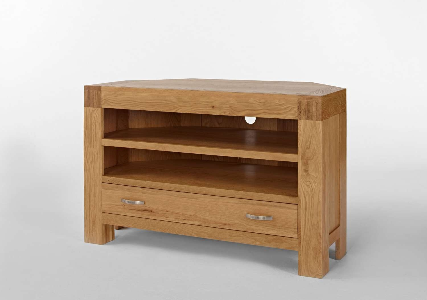 Santana Blonde Oak Corner Tv Unit. Shop Online. In Store (View 15 of 20)