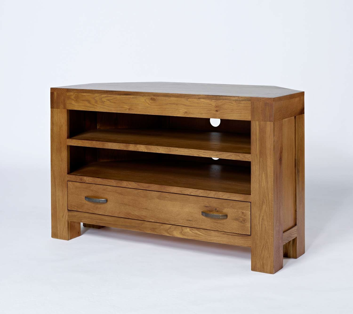 Santana Reclaimed Oak Corner Tv Unit (View 13 of 20)
