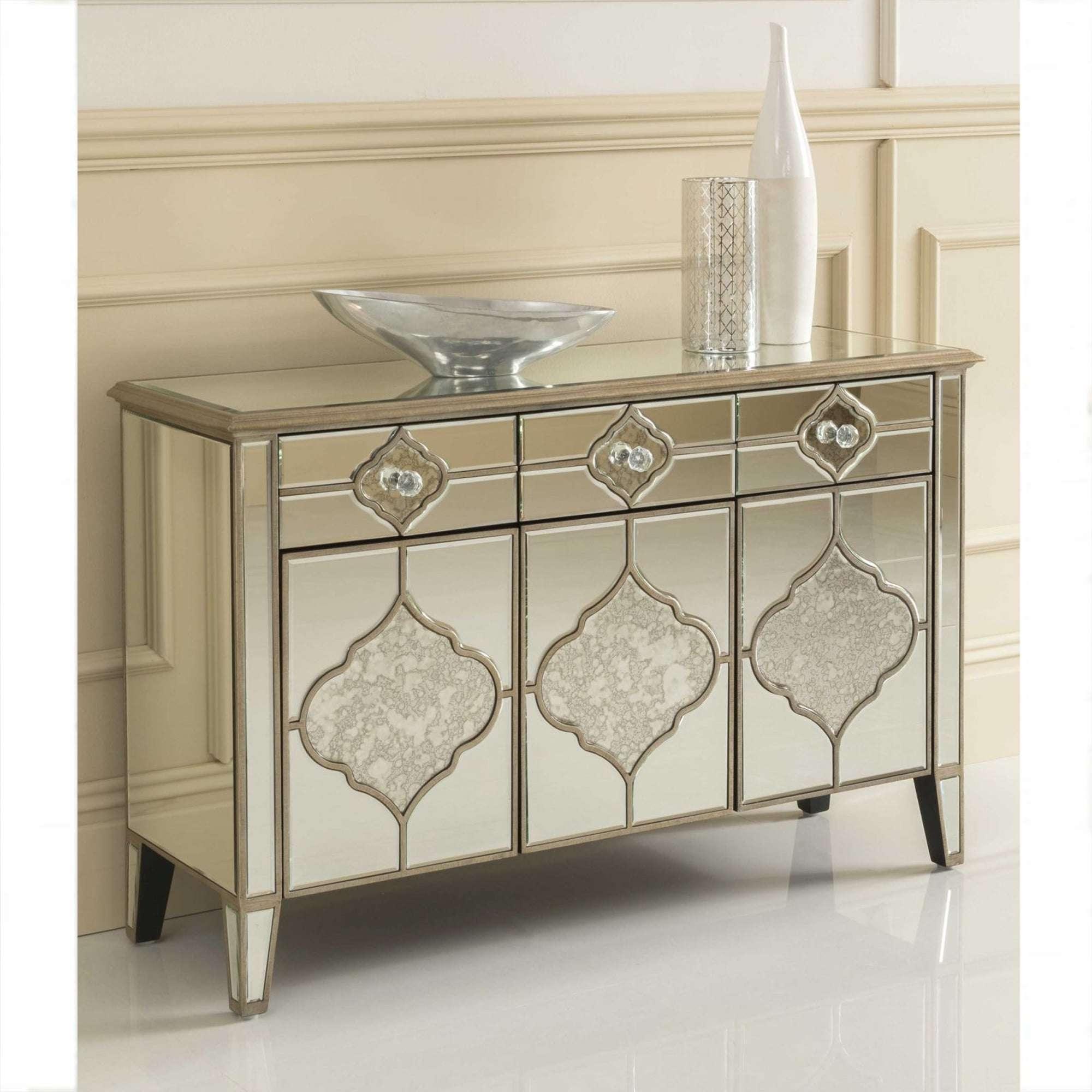 Sassari Mirrored Sideboard | Venetian Glass Furniture Within Mirror Sideboards (View 15 of 20)