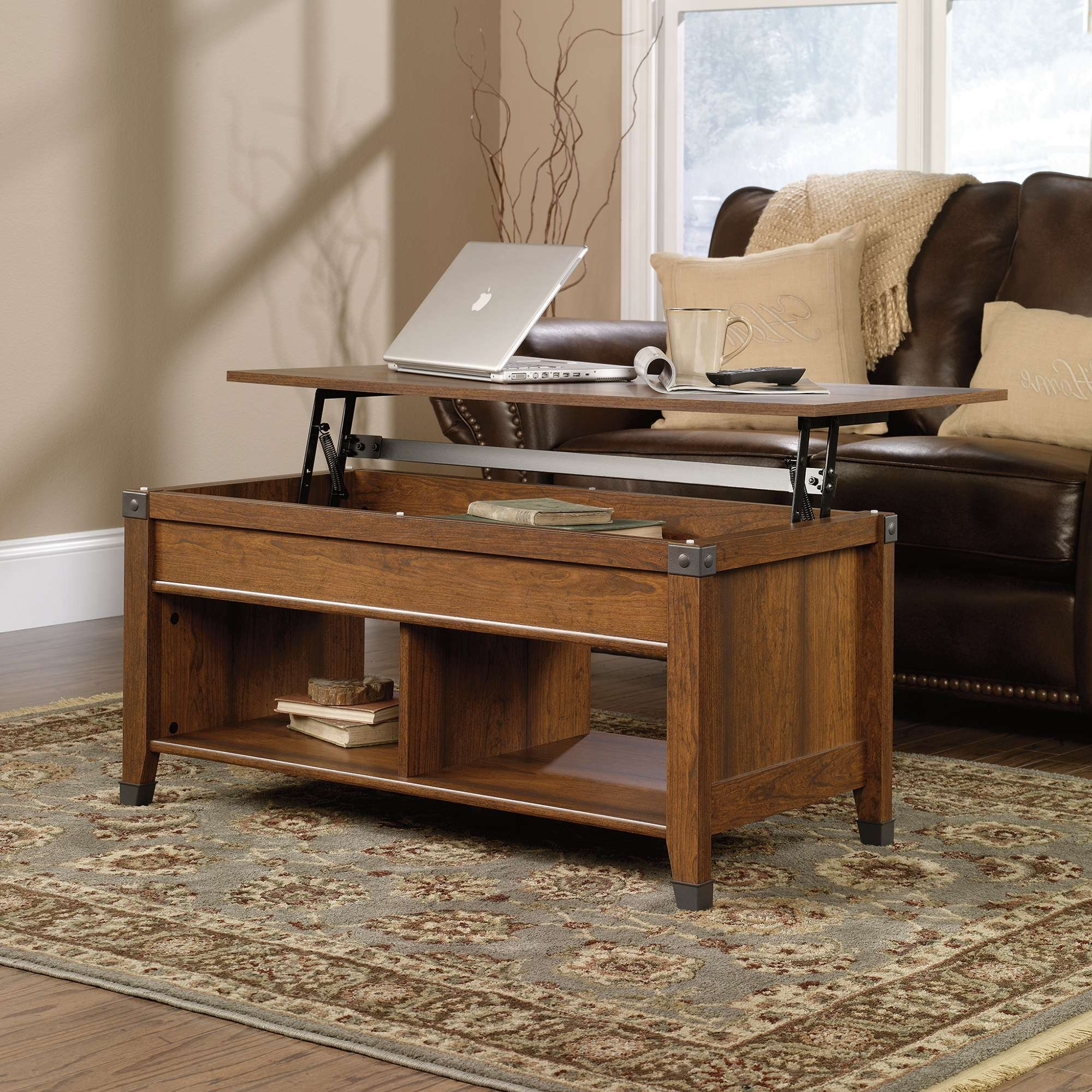 Sauder Within Popular Pull Up Coffee Tables (View 16 of 20)