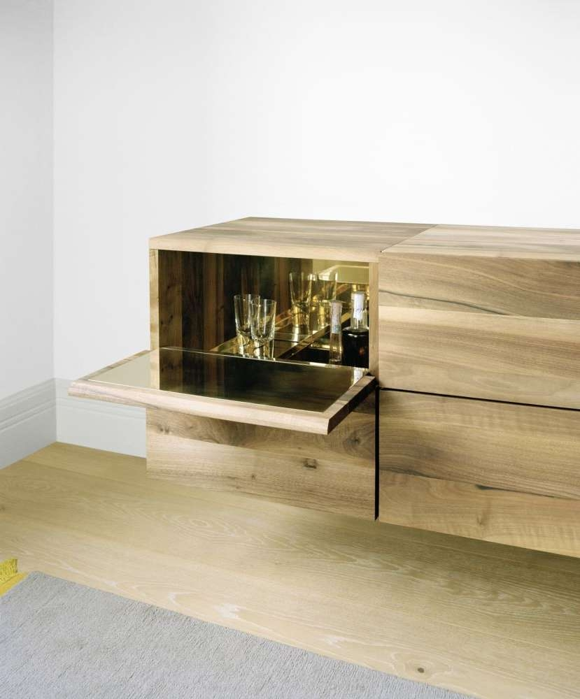 Sb10 Araq Bar Cabinet Oiled Oak And Stainless Steel, Shorte15 Regarding Sideboards Bar Cabinet (View 20 of 20)