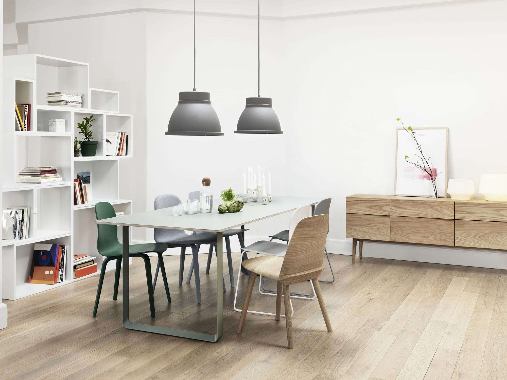 Scandinavian Design Sideboard / Oak – Reflectsøren Rose – Muuto In Scandinavian Sideboards (View 13 of 20)