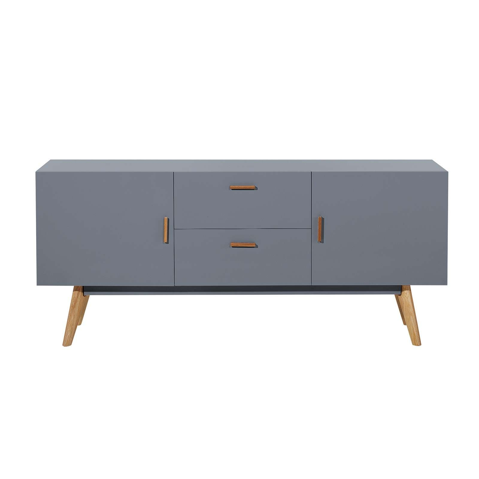 Scandinavian Retro Style White Sideboard Abreo Home Furniture Pertaining To Retro Sideboards (View 11 of 20)