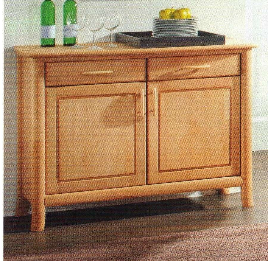 Schoss Konstanz Buche 2Trg Sideboard – Lawton Imports Intended For Beech Sideboards (View 10 of 20)